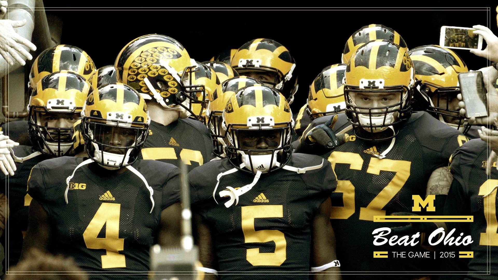 NCAA Football Demo Ohio State Buckeyes vs Michigan 1920×1080 Michigan  Wolverines Football Wallpapers (