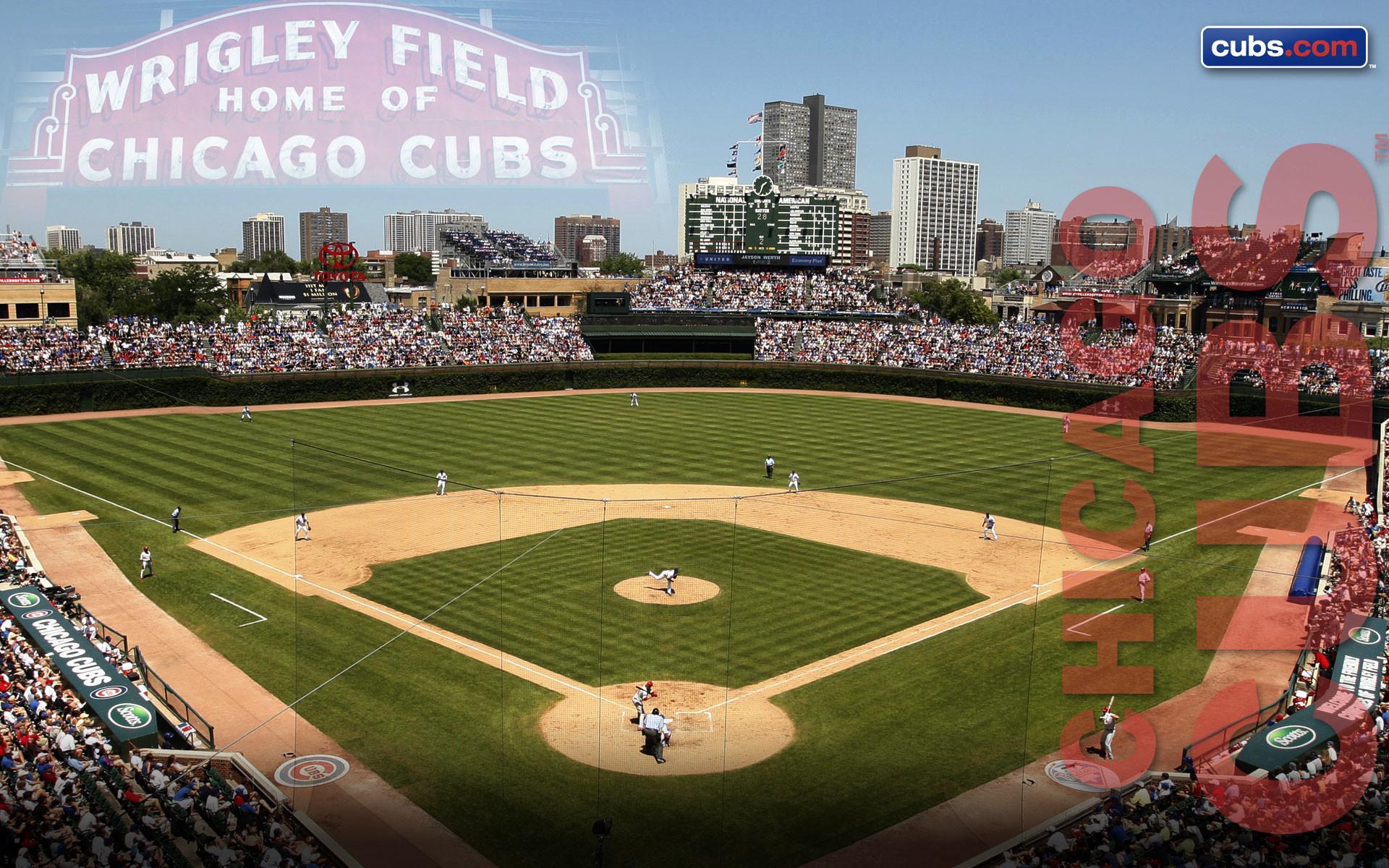 Wrigley Field Wallpaper · Chicago Cubs Wallpaper