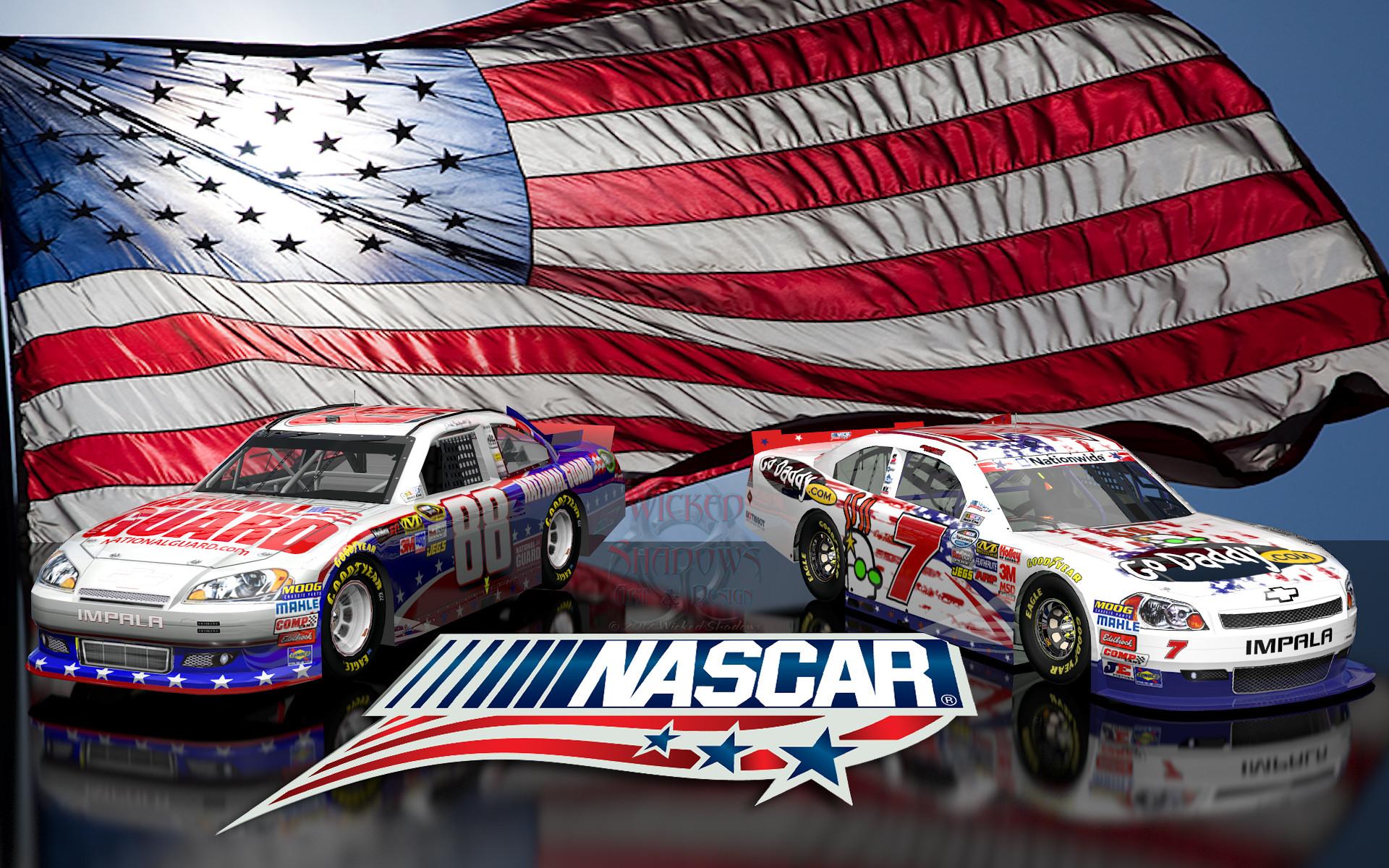 Danica Patrick Dale Earnhardt Jr NASCAR Unites wallpaper 16×10