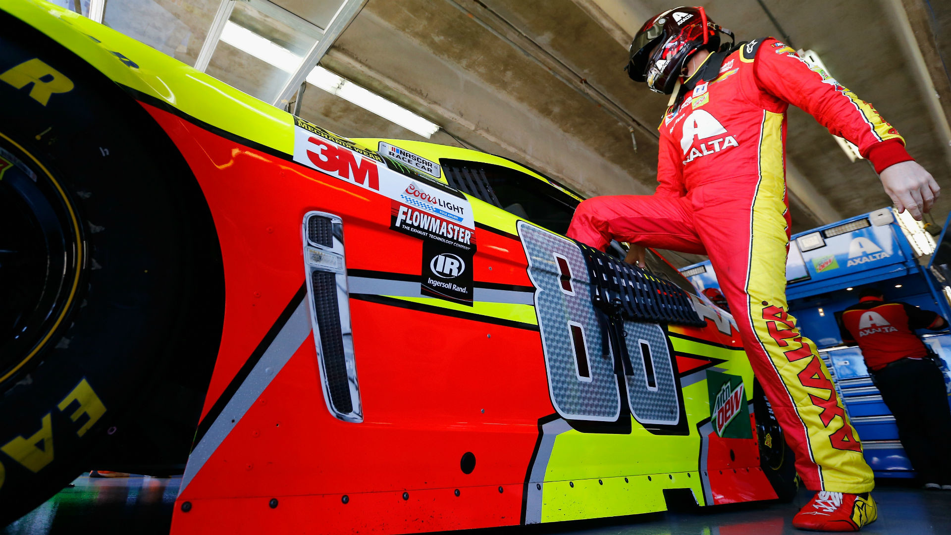 Dale Earnhardt Jr.'s race ends at Pocono after rookie mistake — blown  transmission   NASCAR   Sporting News