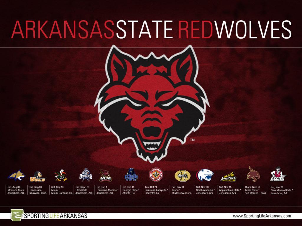… 2014 Arkansas State Red Wolves Football Schedule Wallpaper