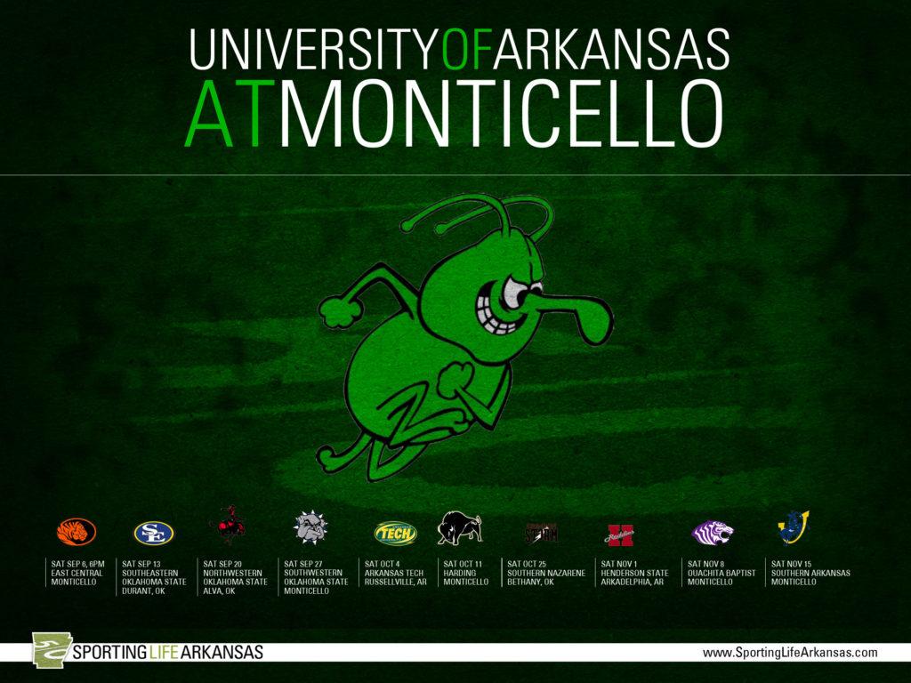 2014 Arkansas Tech Wonder Boys Football Schedule Wallpaper · 2014 UAM Boll  Weevils Football Schedule Wallpaper
