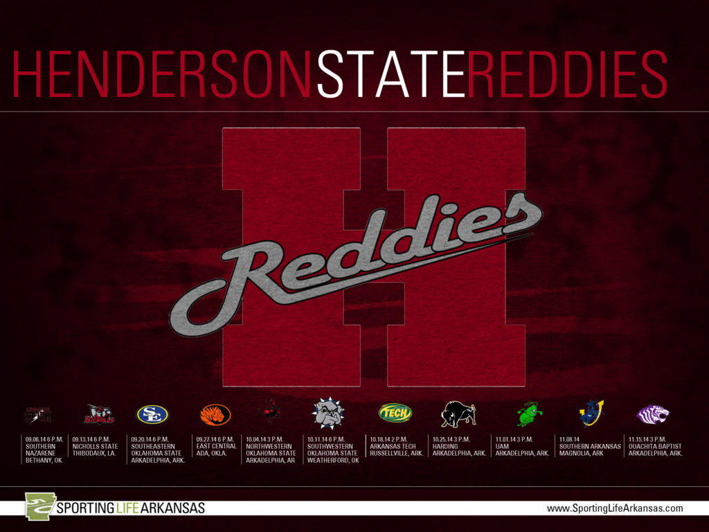 2014 Arkansas State Red Wolves Football Schedule Wallpaper · 2014 Henderson  State Reddies Football Schedule Wallpapers