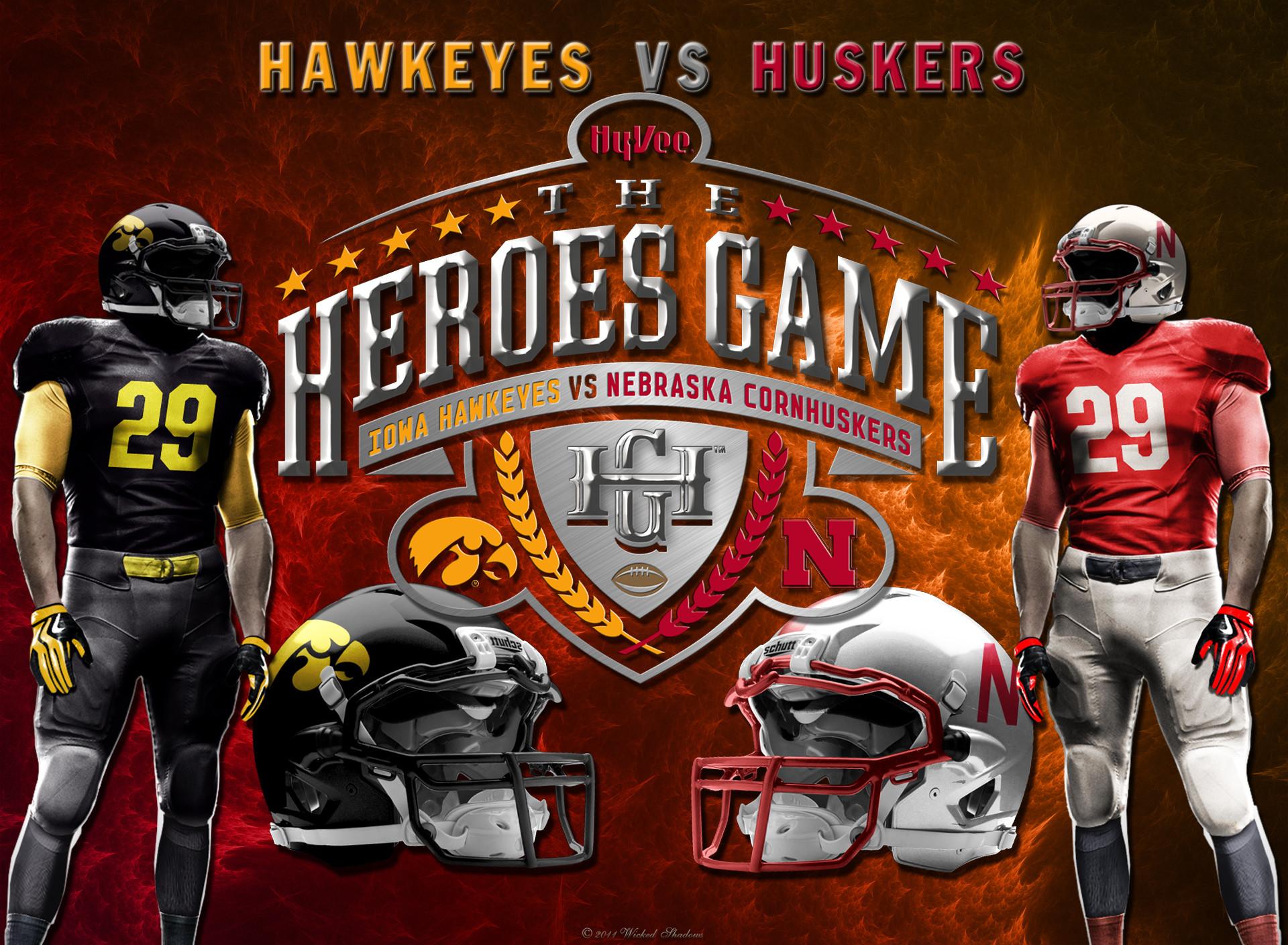 Nebraska Huskers Logo Screensavers