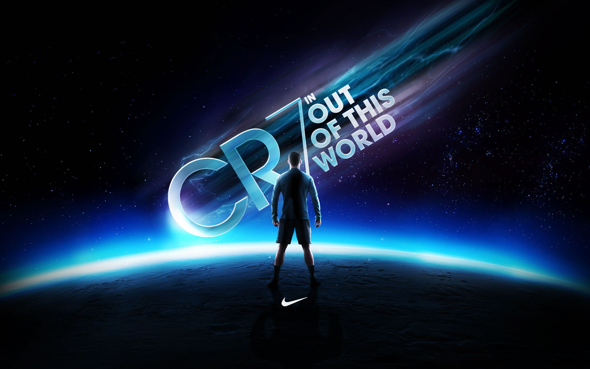 """CR7: """"Out of this world"""" Nike Wallpaper"""