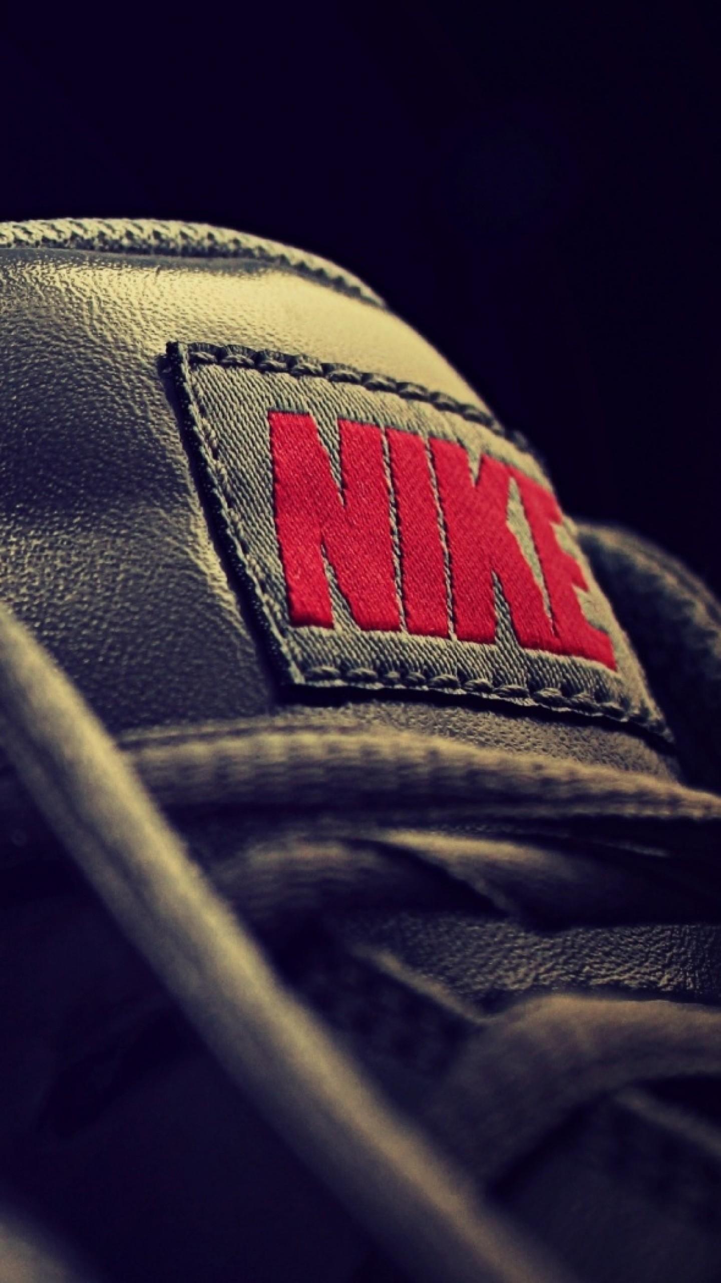 Preview wallpaper nike, sneakers, shoes, logo 1440×2560