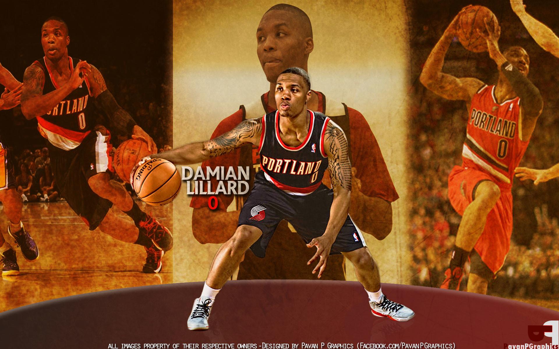 Damian Lillard Portland Trail Blazers Wallpaper