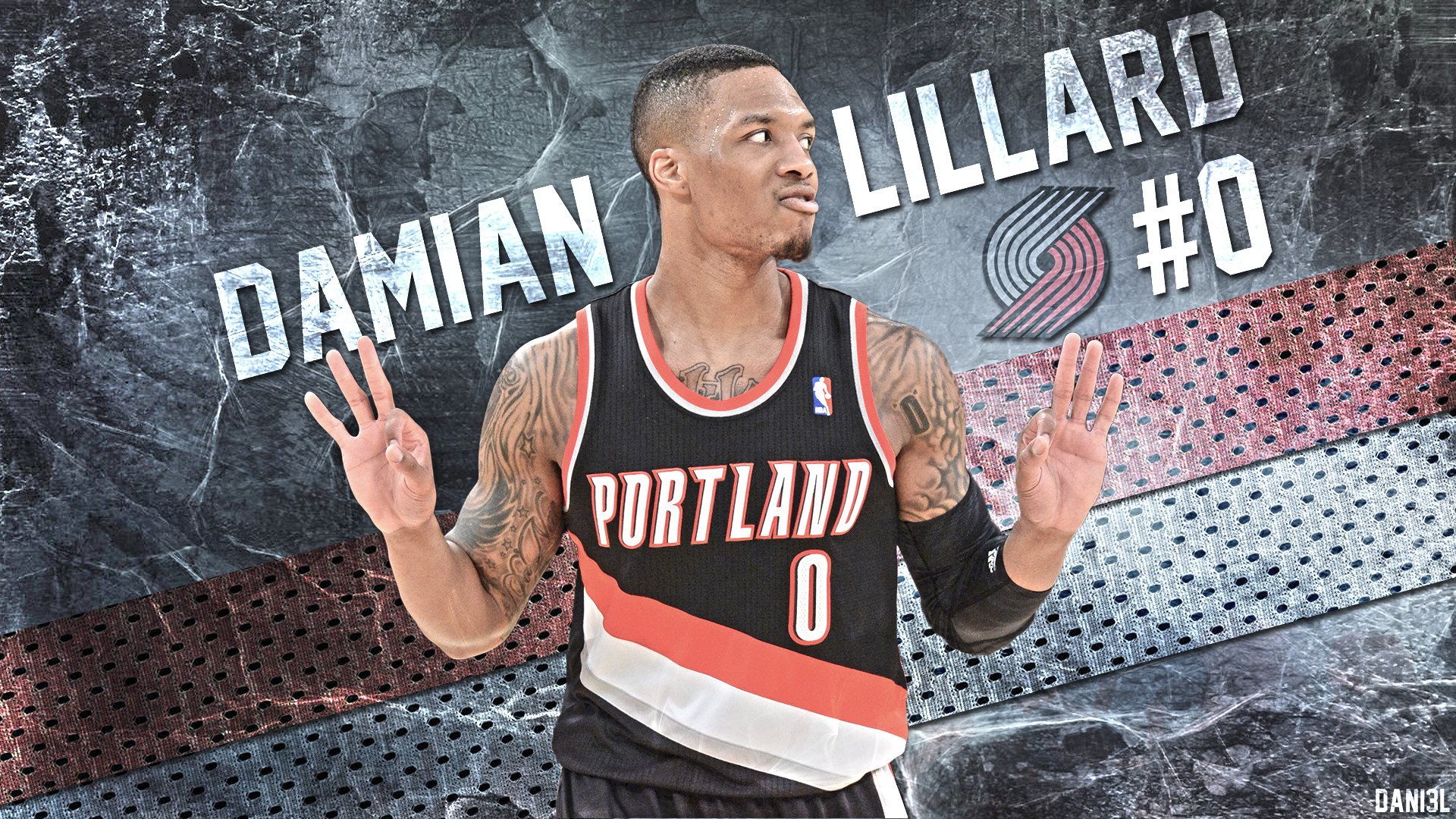 NBA, Portland, Trail Blazers, Portland Trail Blazers, Damian Lillard,  Basketball Wallpapers HD / Desktop and Mobile Backgrounds