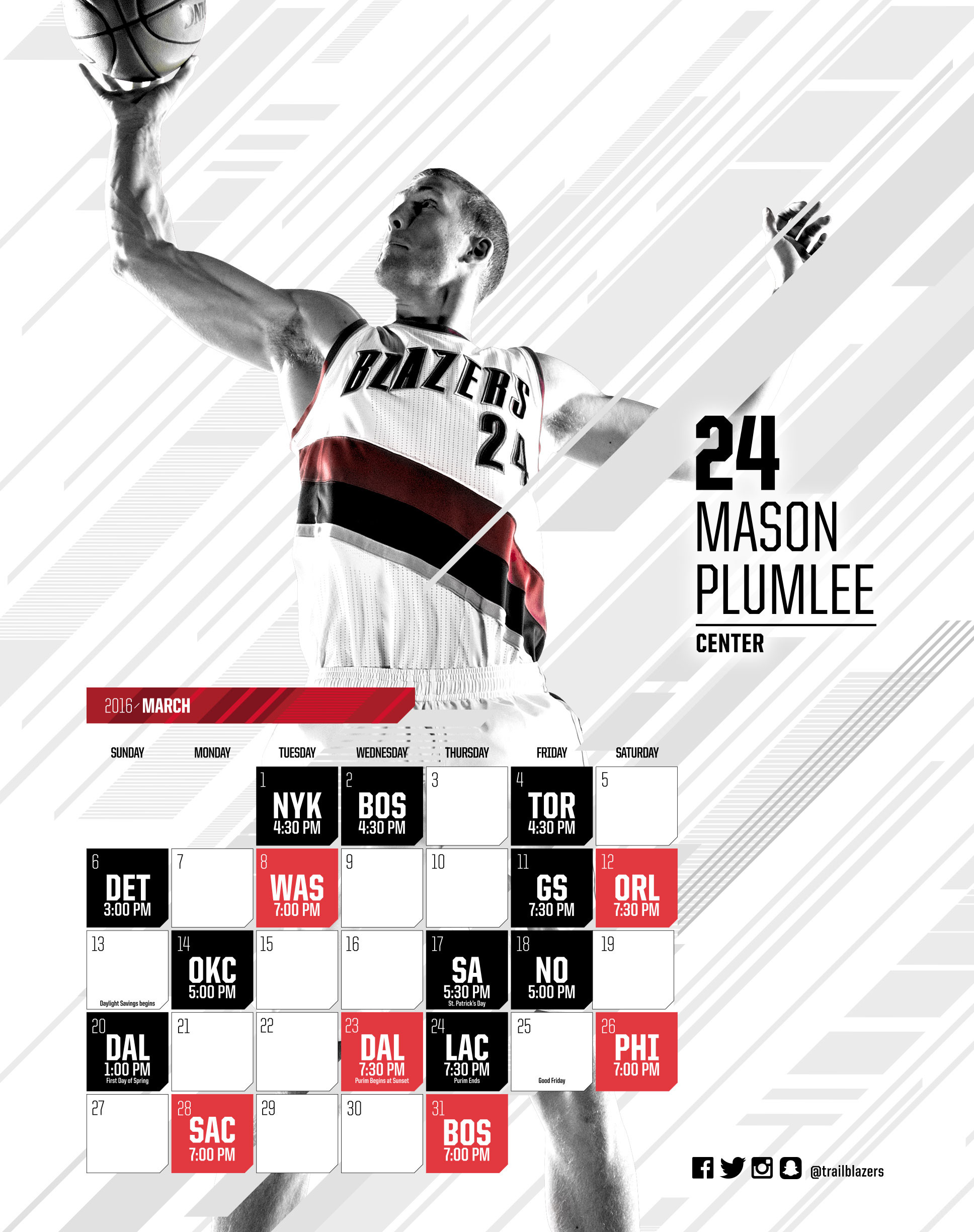 Wallpapers Portland Trail Blazers · Nba Blazers Schedule Photo Album –  Watch Out, There's a Clothes About. Nba Blazers Schedule Photo Album Watch  Out …