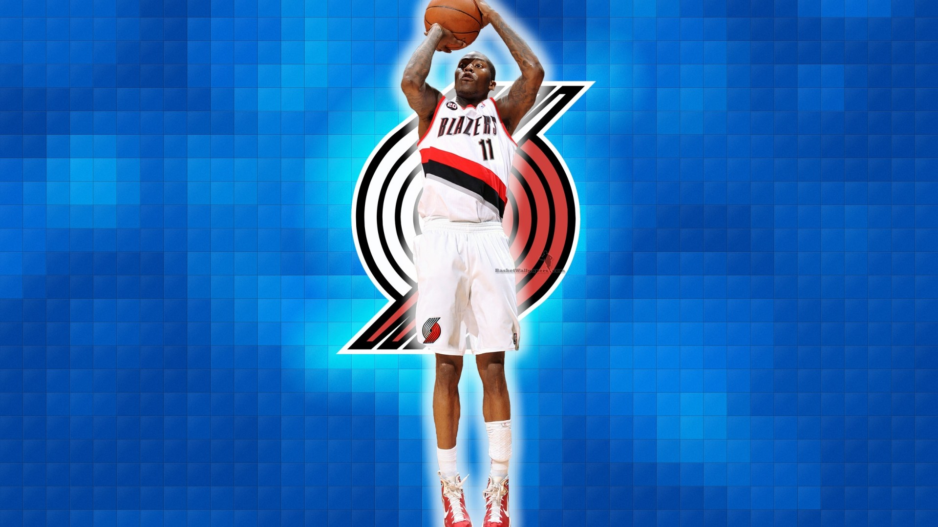 Jamal Crawford Blazers basketball wallpaper
