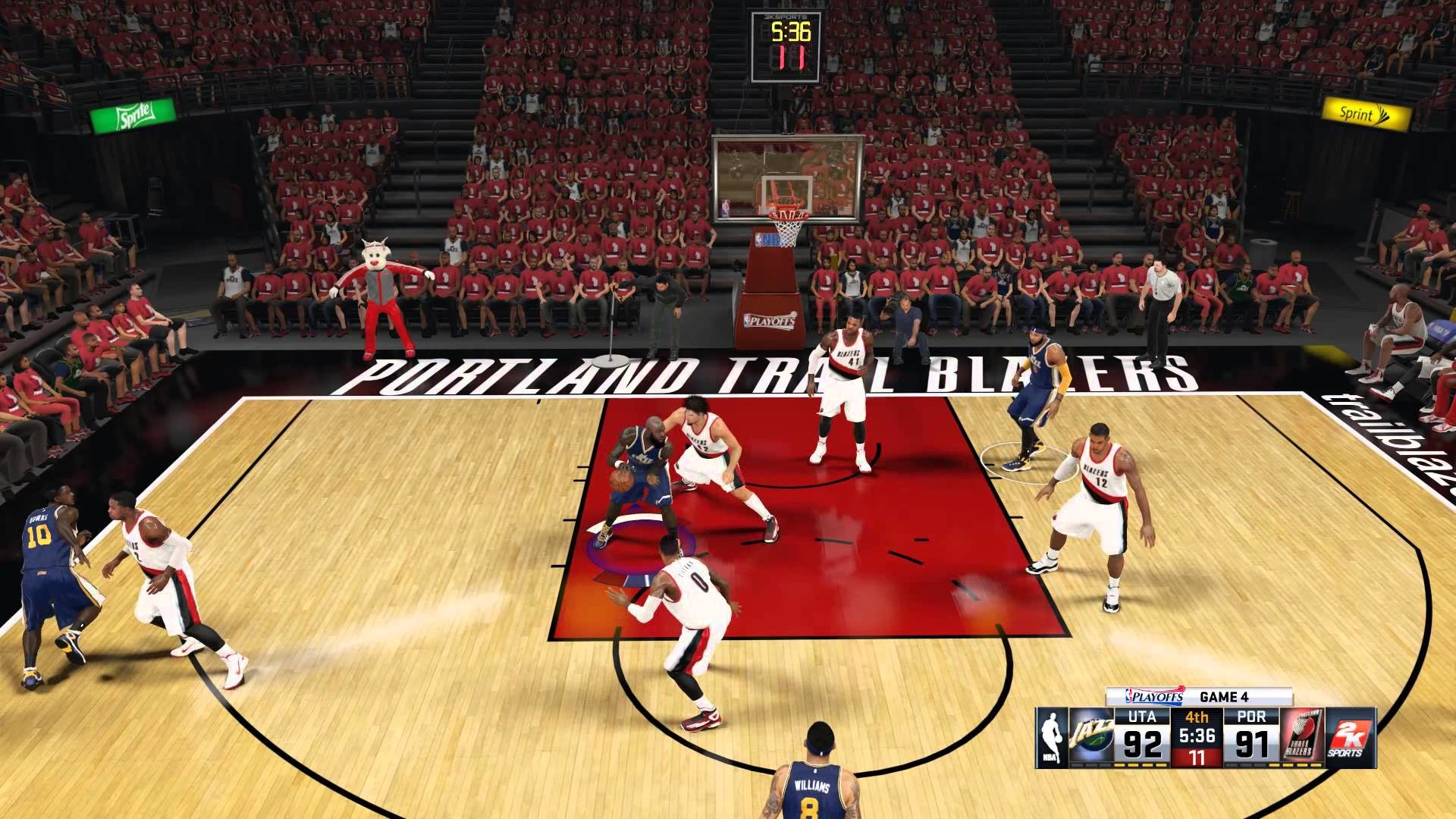 Utah Jazz – Portland Trail Blazers | First Round | 2015 NBA Playoffs | Game  4 – YouTube