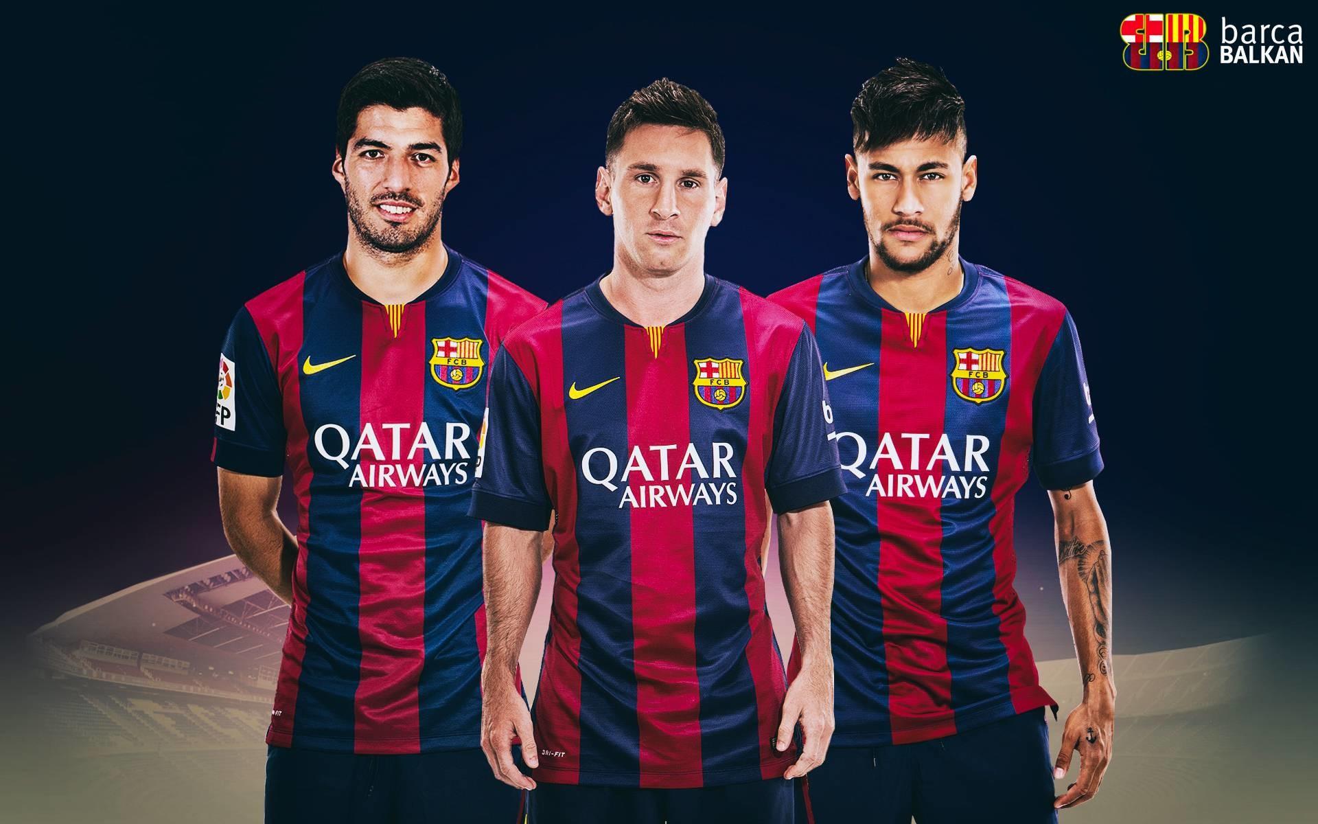 Suarez Messi Neymar – HD wallpaper 2015 by SelvedinFCB on DeviantArt