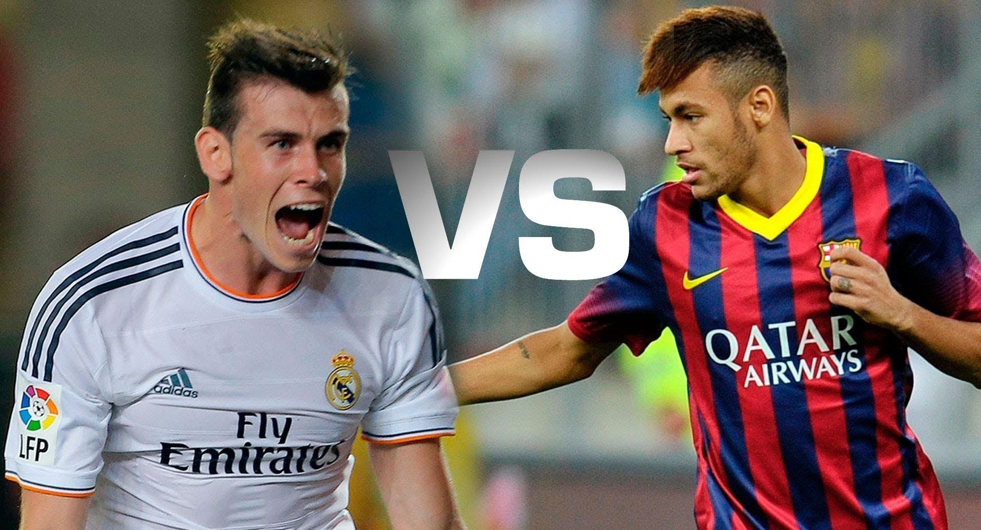 Neymar Jr vs Gareth Bale HD 720 P