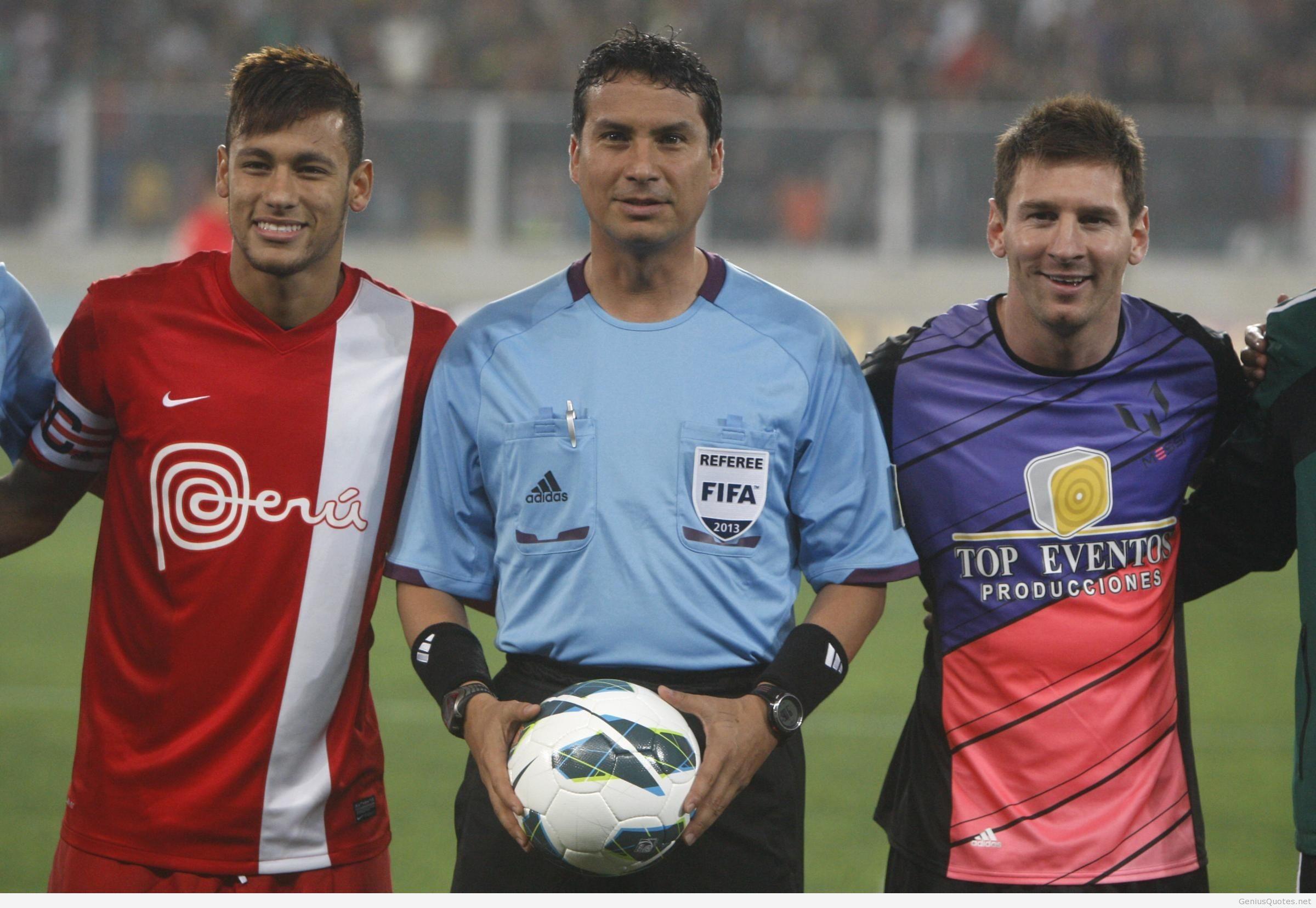 … Messi e Neymar in campo per beneficenza …