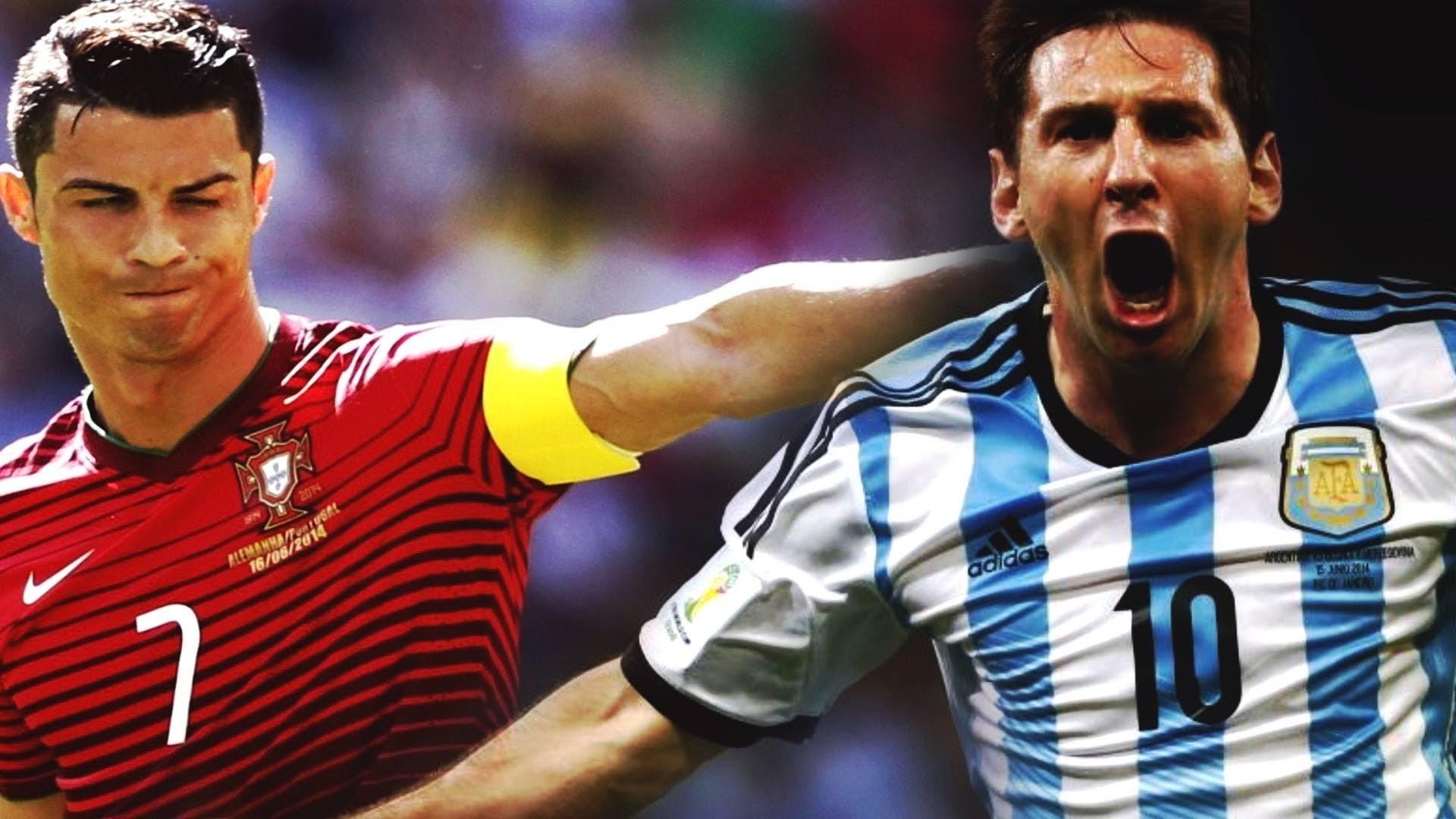Cristiano Ronaldo & Lionel Messi – World Cup Brazil Battle 2014 HD – YouTube