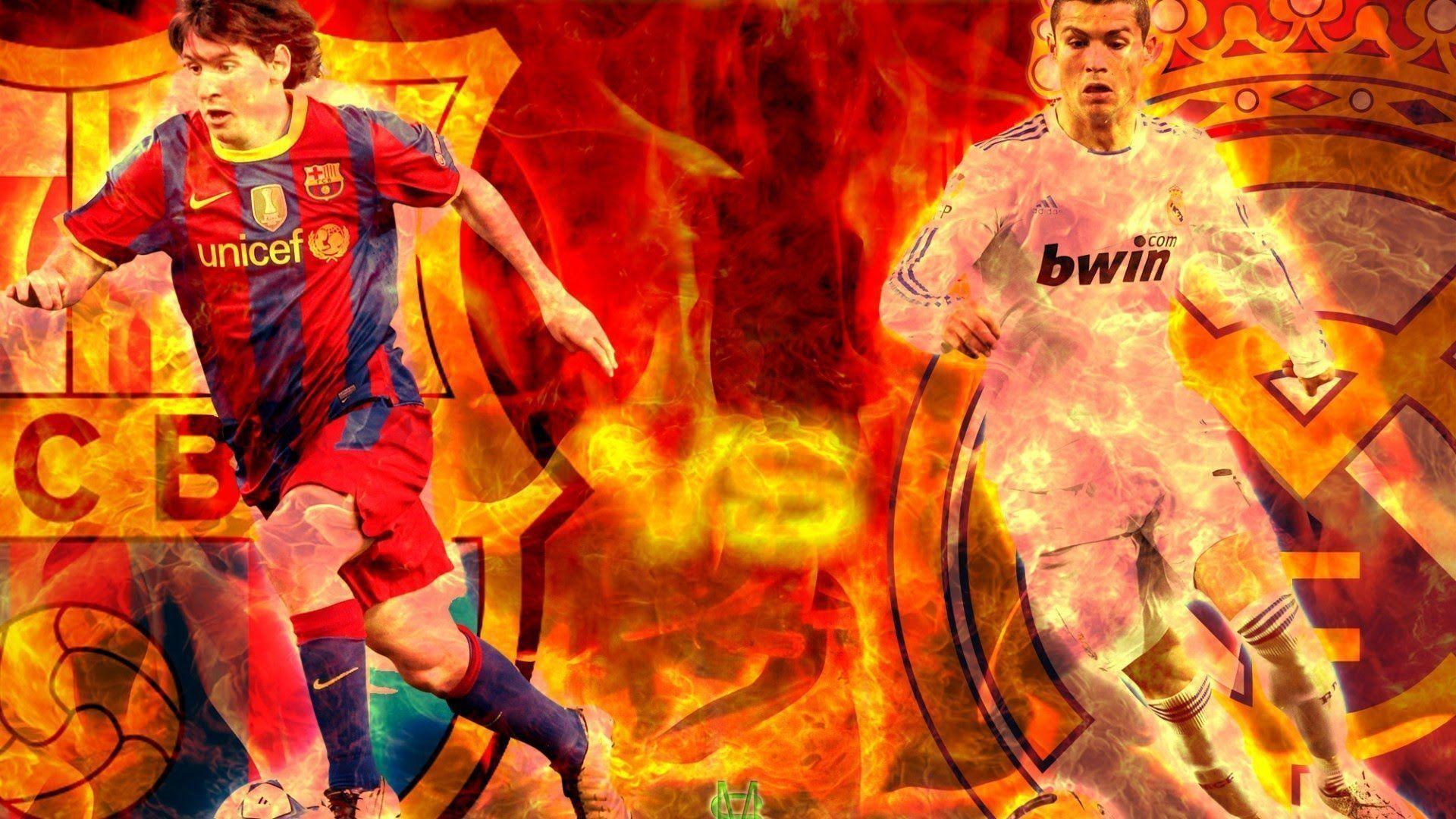 Cristiano Ronaldo vs Leo Messi   2014-2015   – YouTube
