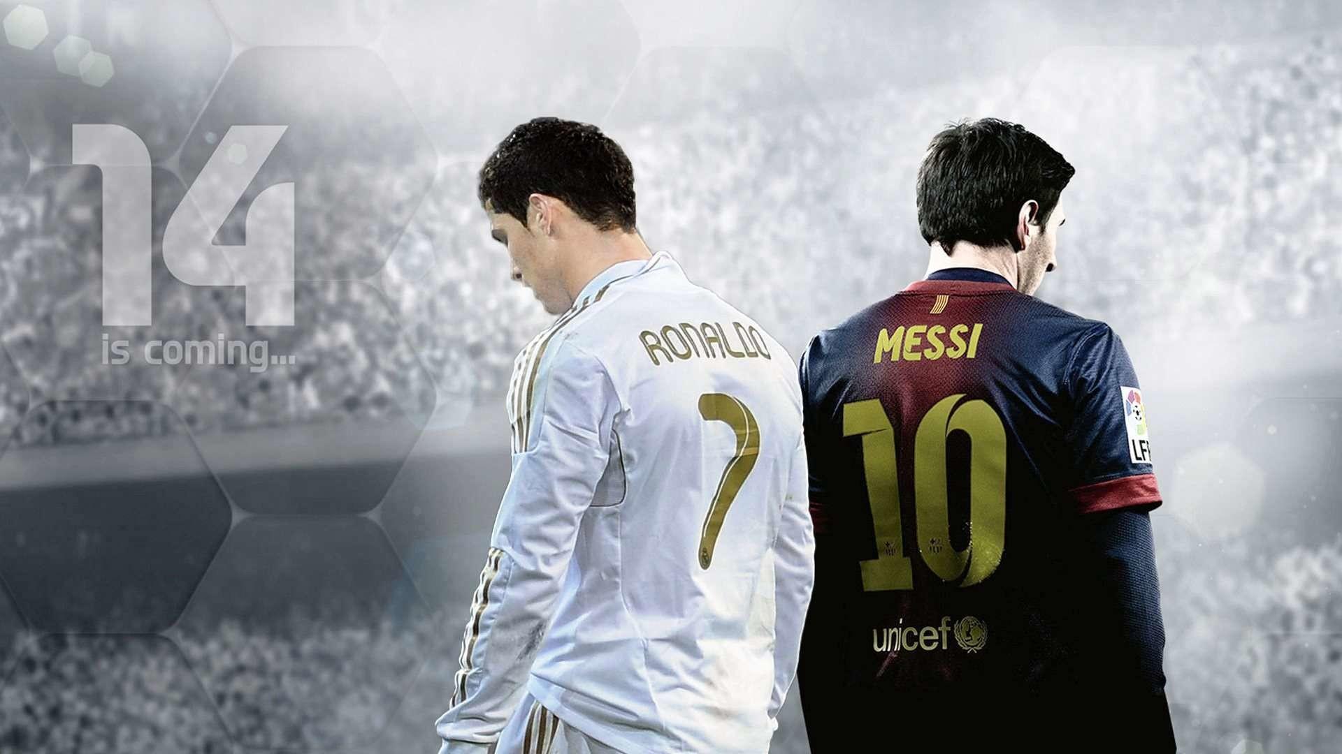 Messi VS Cristiano Ronaldo HD Wallpapers