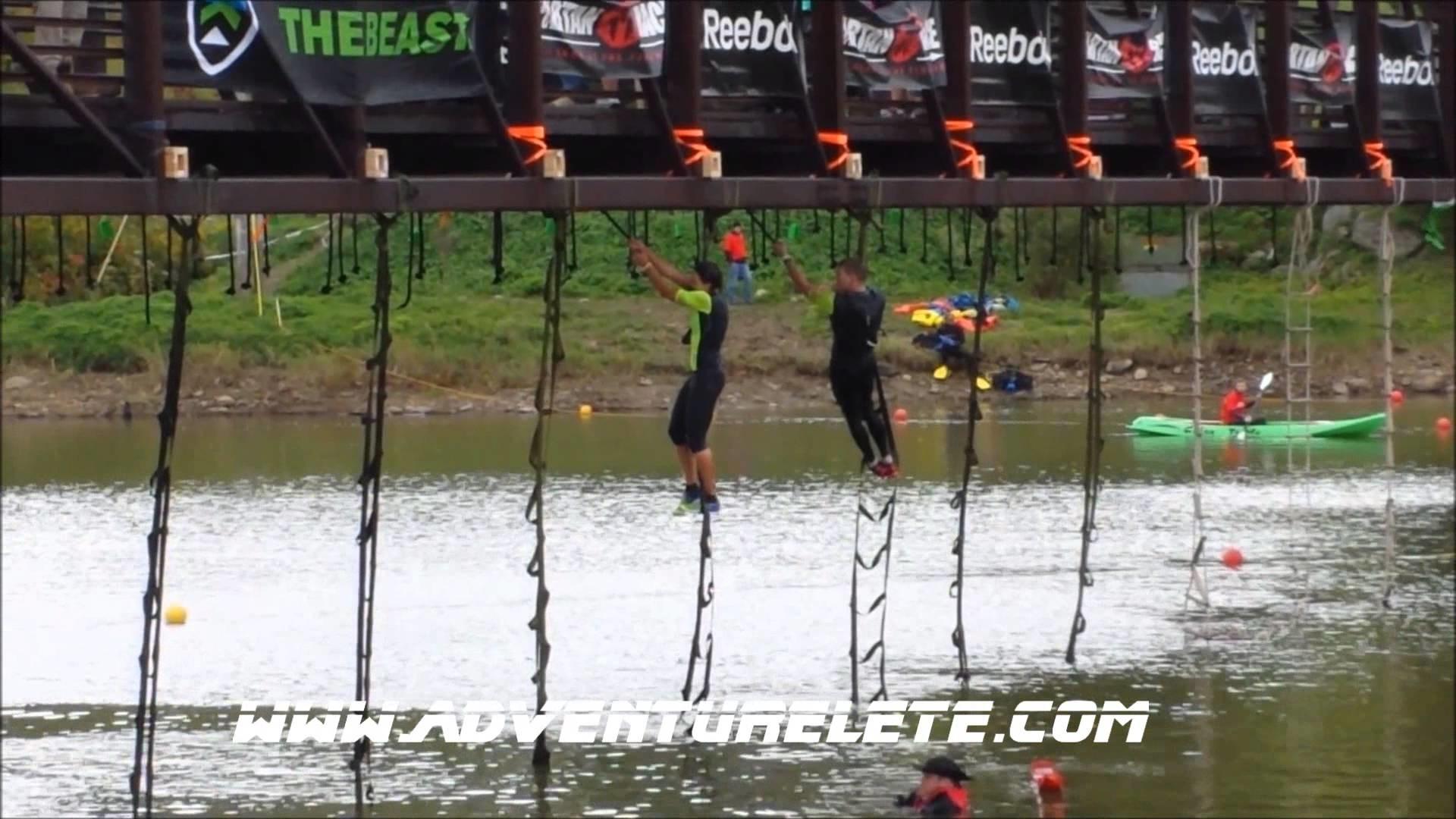 Spartan Race World Championships Vermont Beast 2013 Tarzan Swing Obstacle –  YouTube