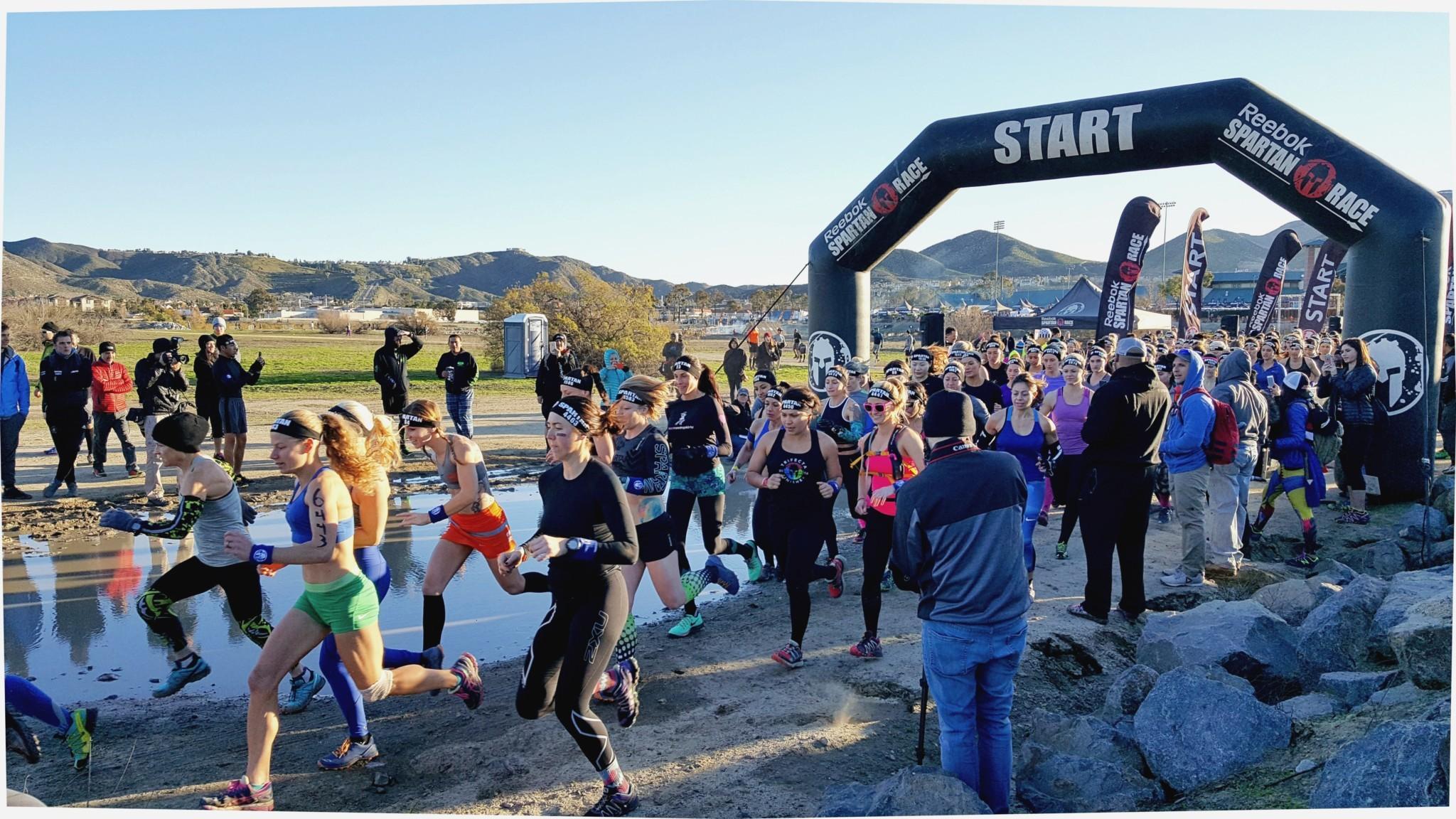 Spartan Race – SoCal Women's Start