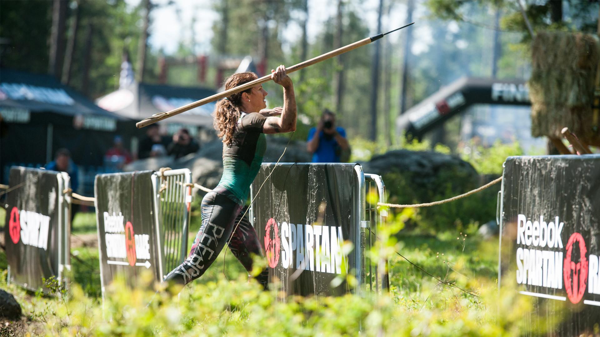 Rose Wetzel spear throw