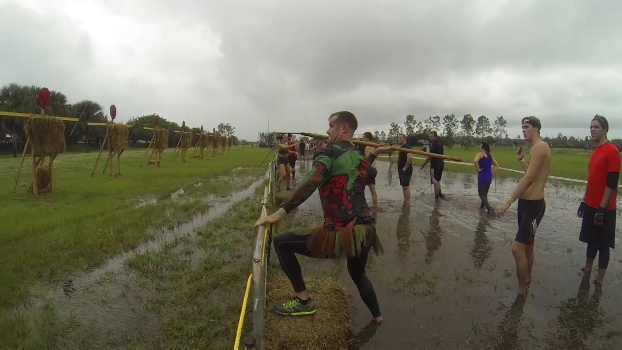 Spartan Race Miami 12052015 – Spear Throw – Courtesy of Arnel Banawa