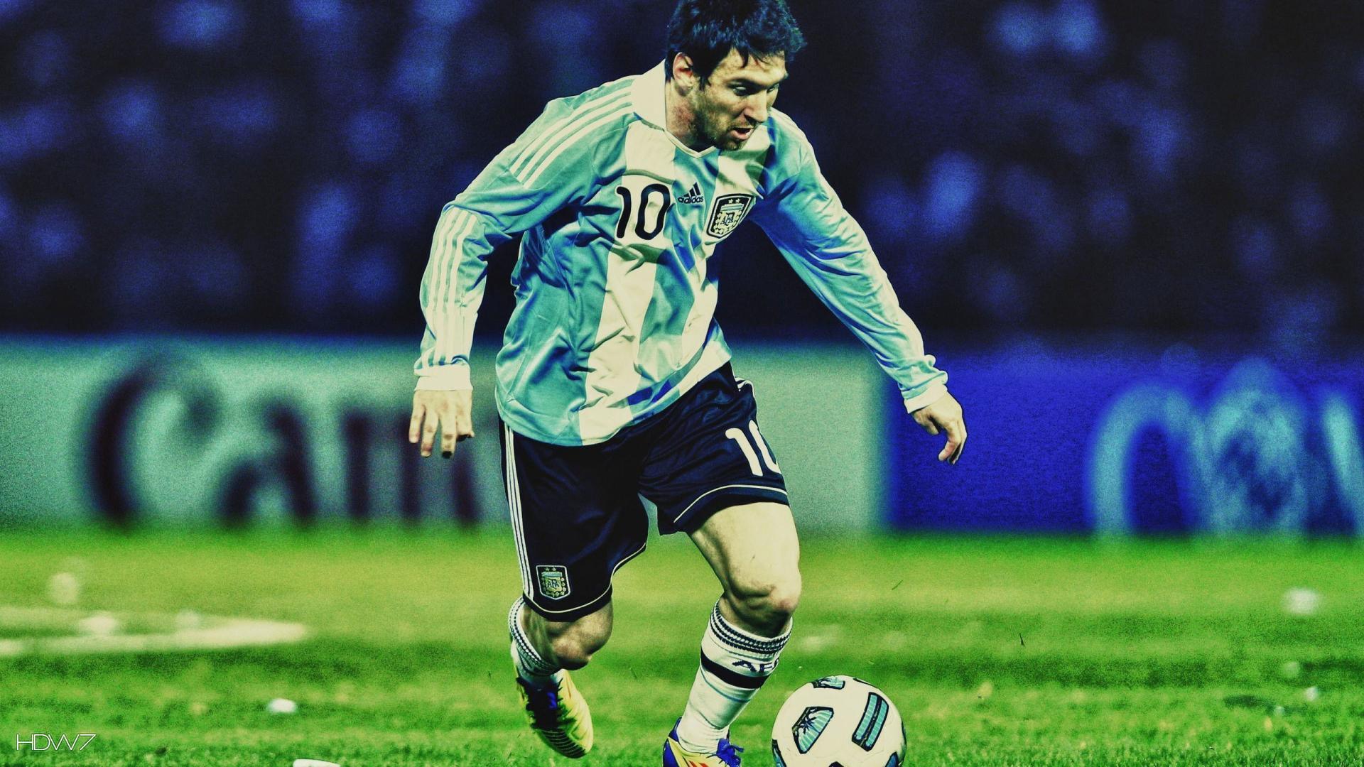 lionel messi argentina football 1080p