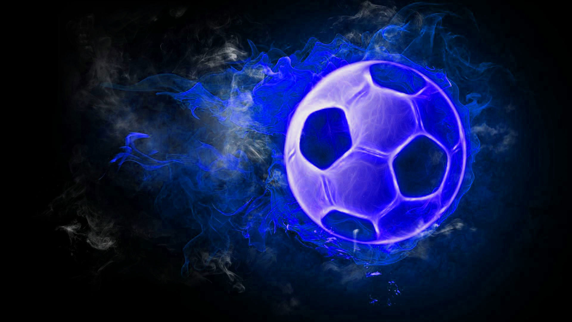 hd pics photos football in fire
