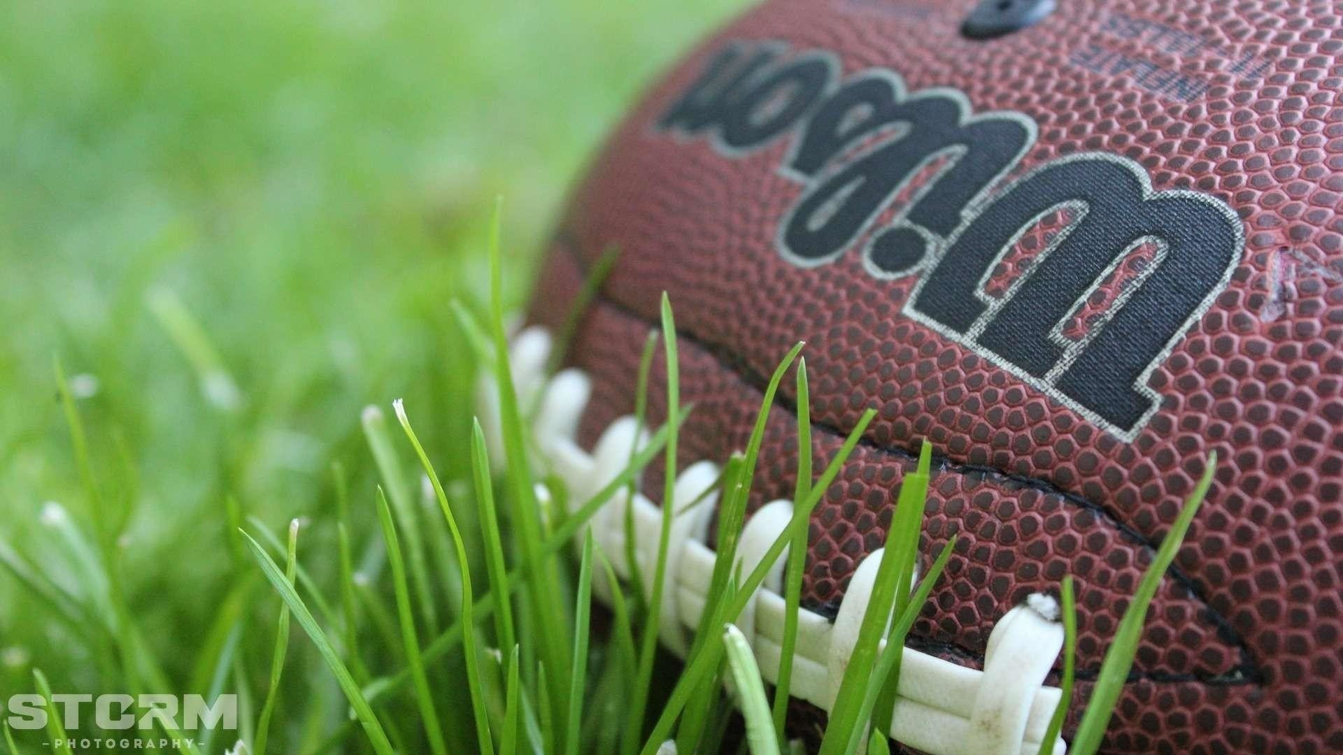American football wilson balls brown colors wallpaper   (65216)