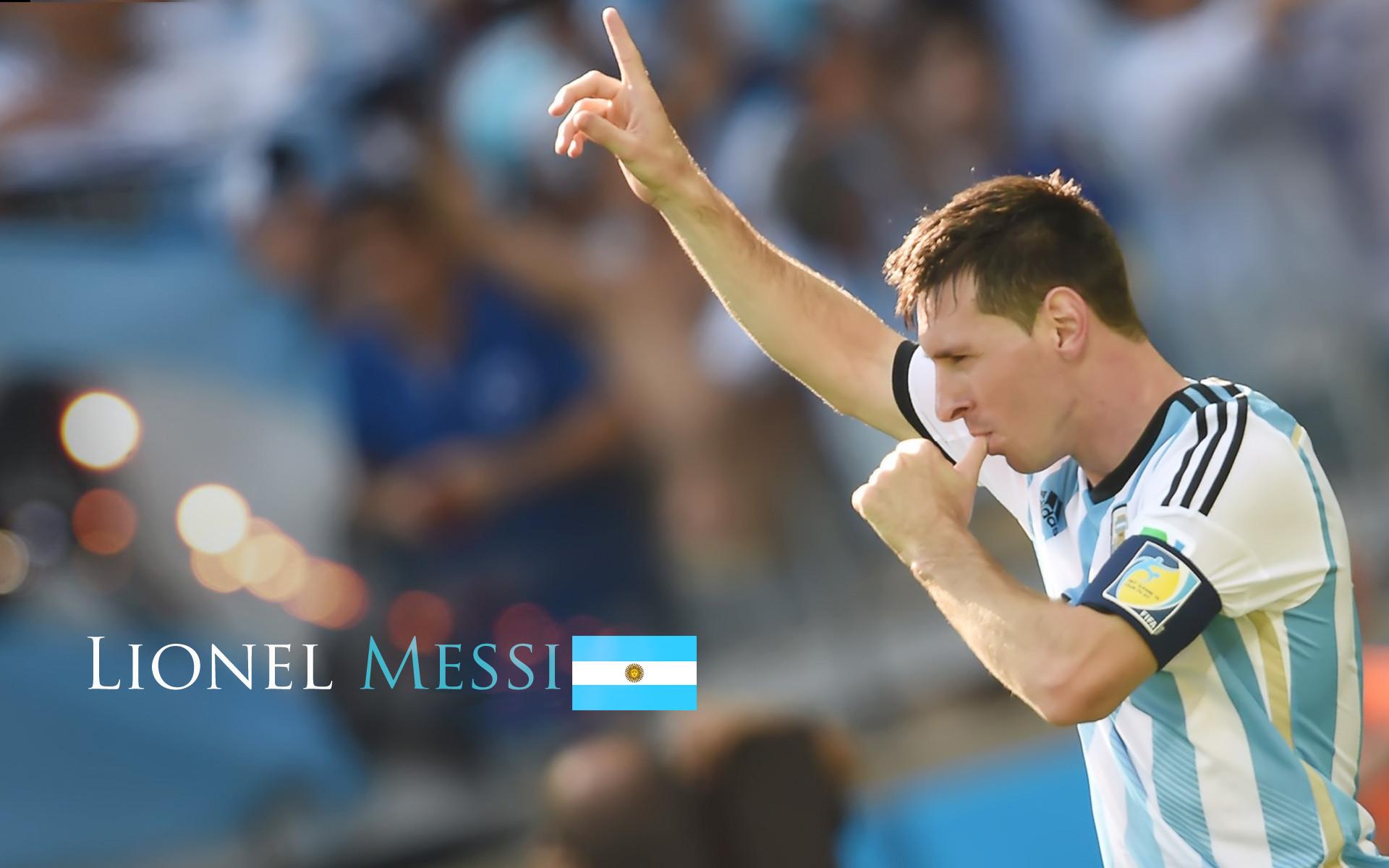 lionel messi argentina football wallpaper
