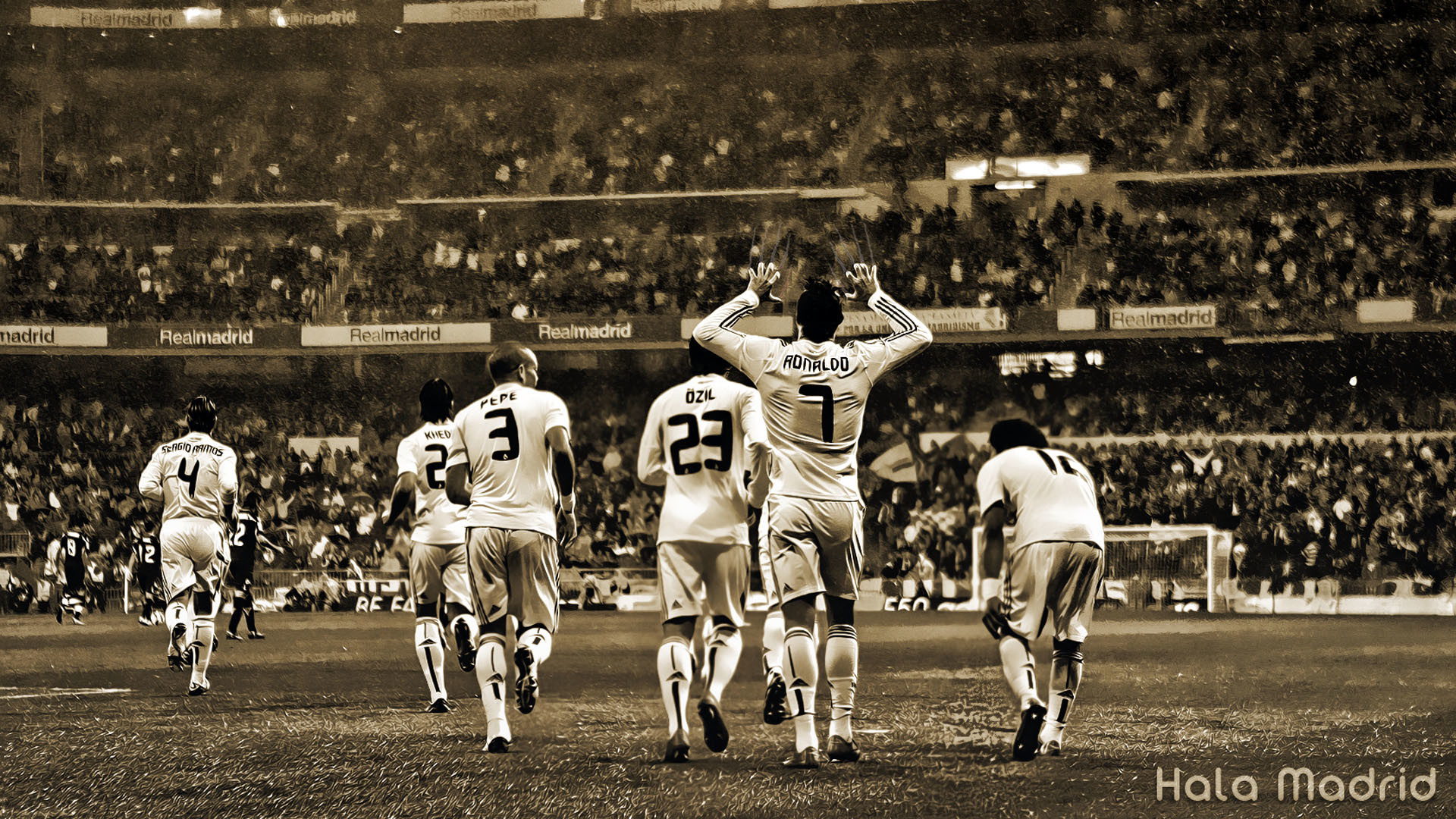 Team Real Madrid Wallpaper #7918 Wallpaper | High Definition .