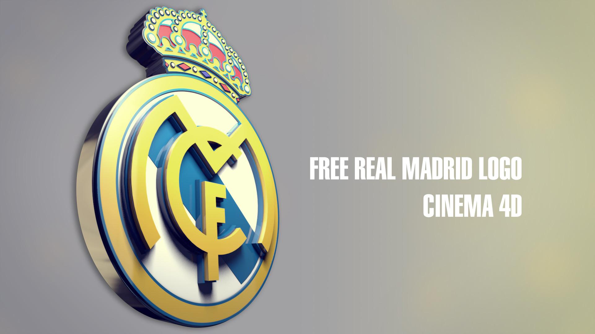 Real Madrid Logo 3D
