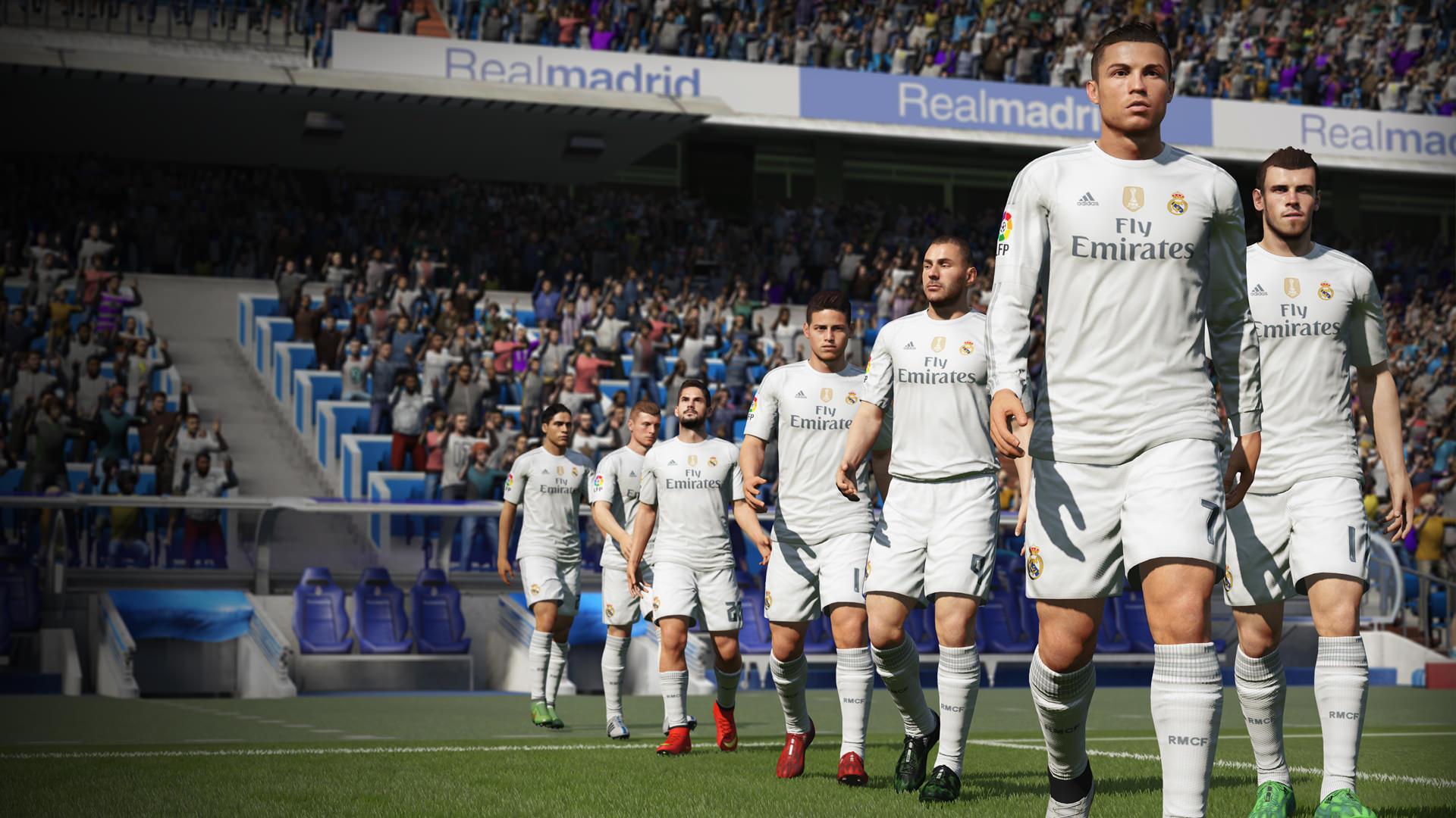 Fifa 17 Gameplay Real Madrid Wallpaper