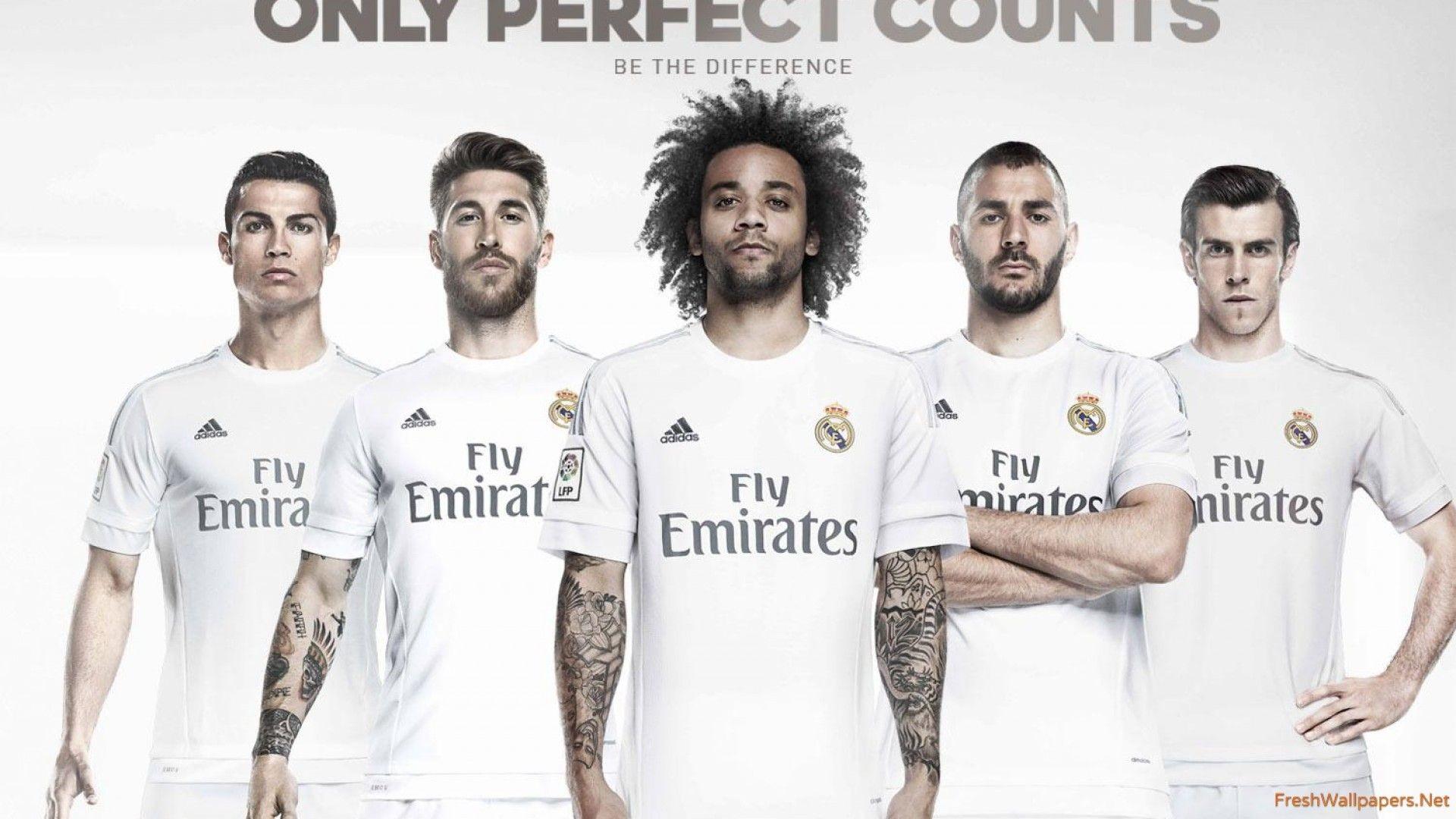 Real Madrid CF 2015-2016 Kit wallpapers