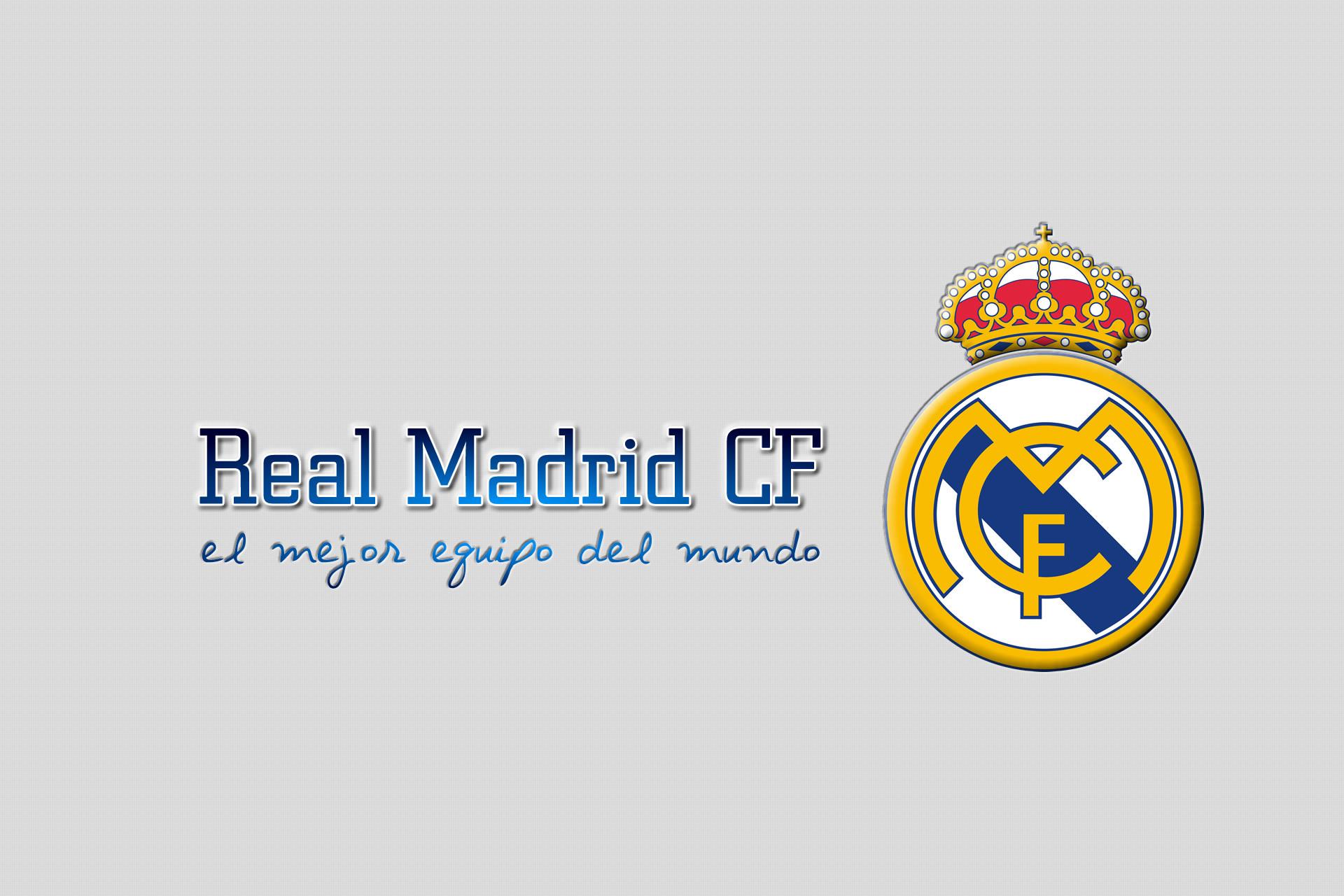 Plain Gray Real Madrid Wallpaper