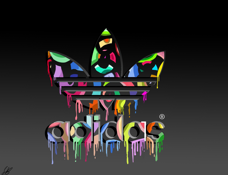Cool Adidas Logos   Brands & Logo : Adidas Logo Colorful Dekstop High  Quality .