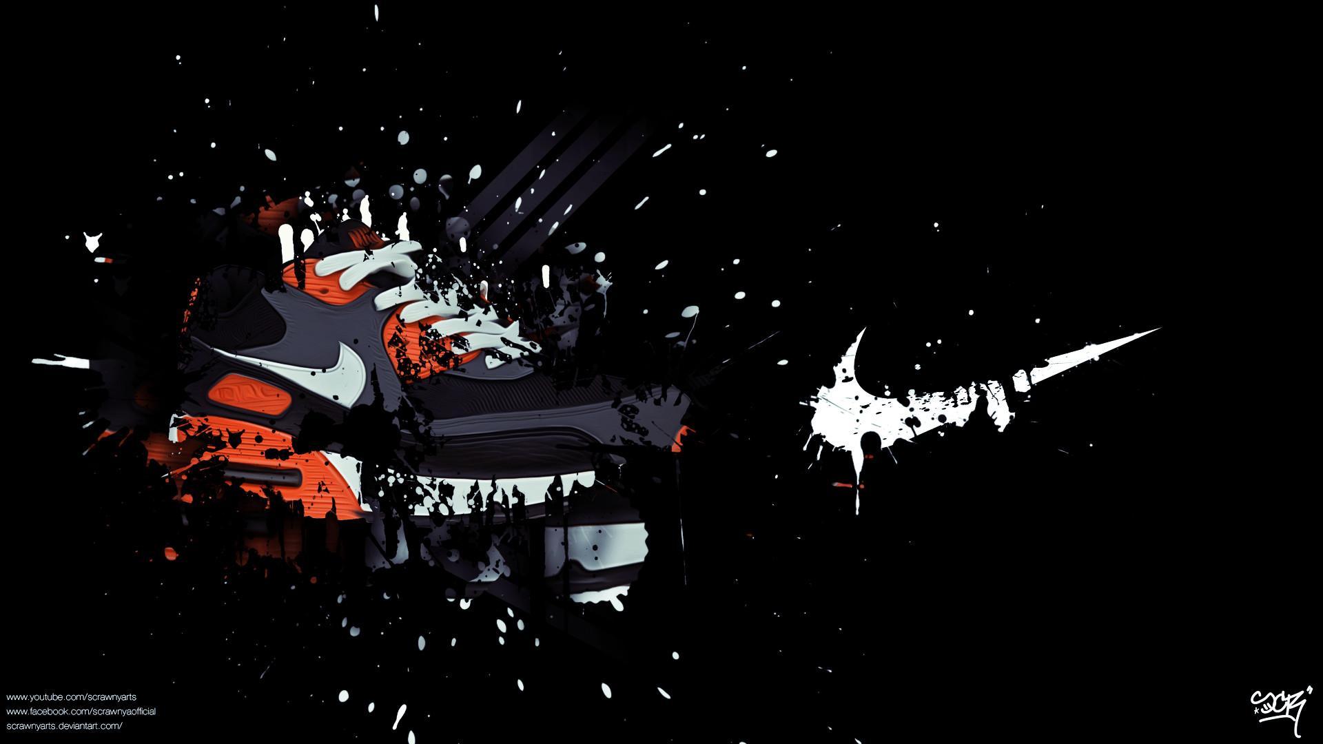 Images For > Nike Air Logo Wallpaper