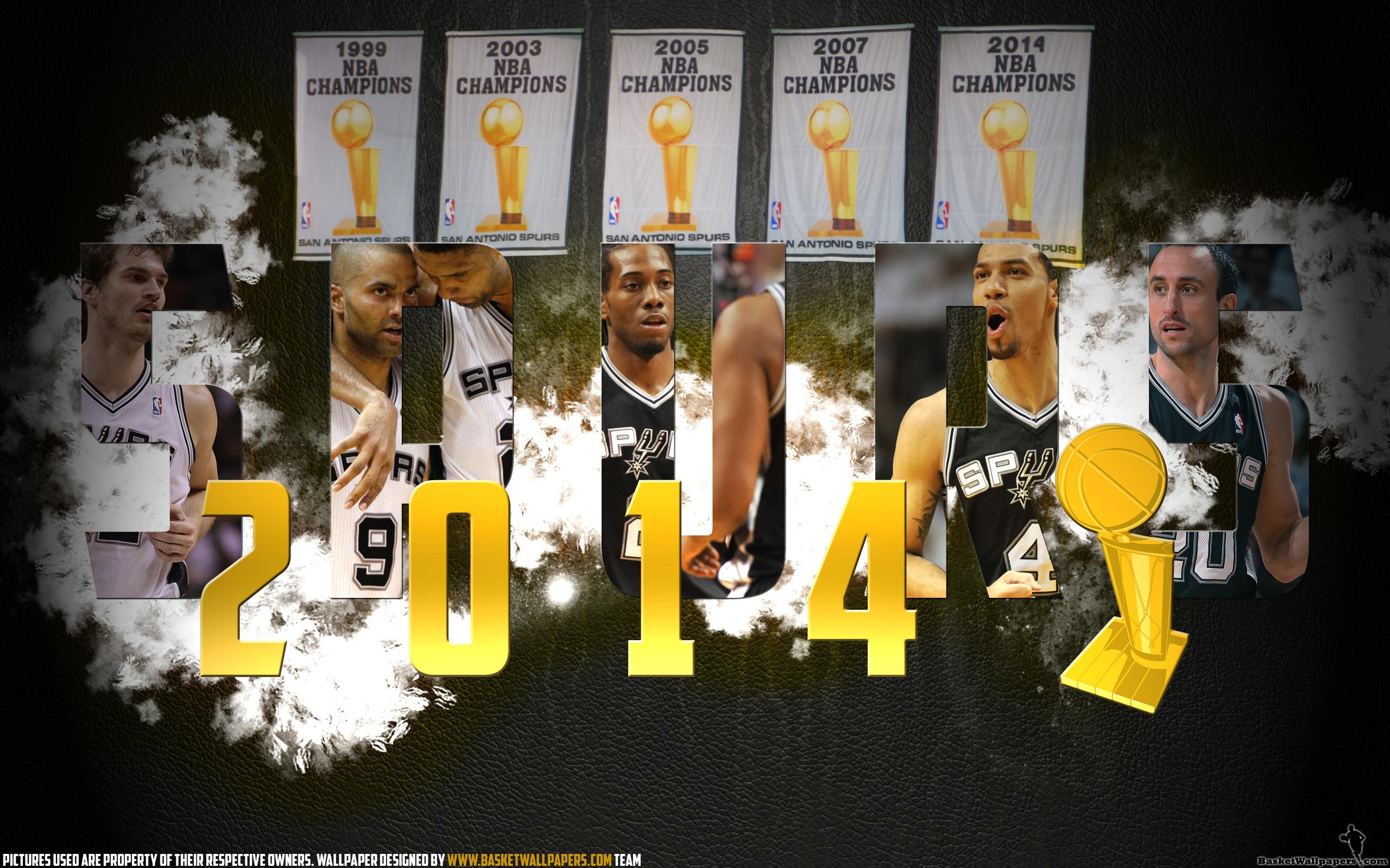 San Antonio Spurs 2014 NBA Champions Wallpaper