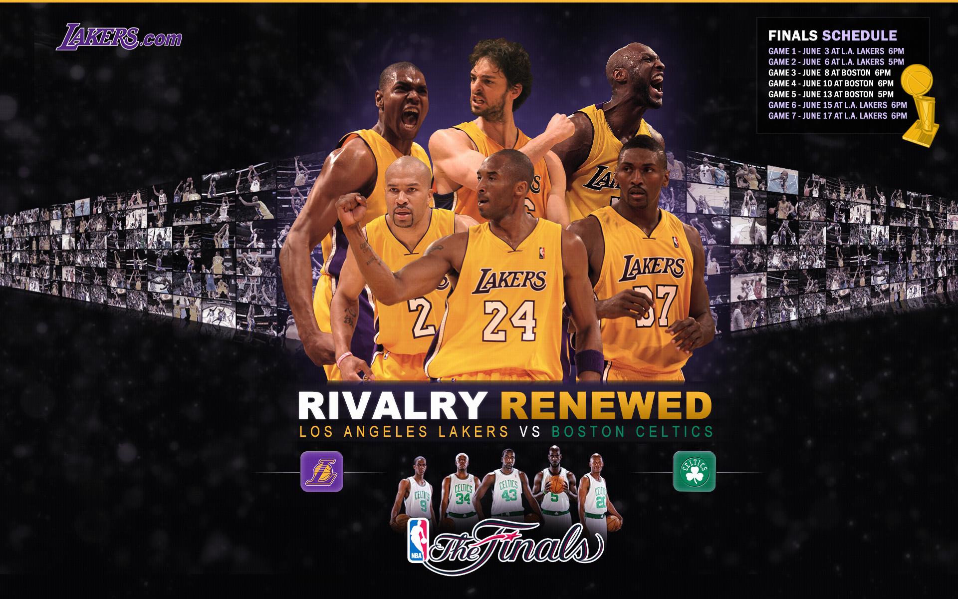NBA Finals Schedule Regular: 1280×1024. Widescreen: 1920×1200