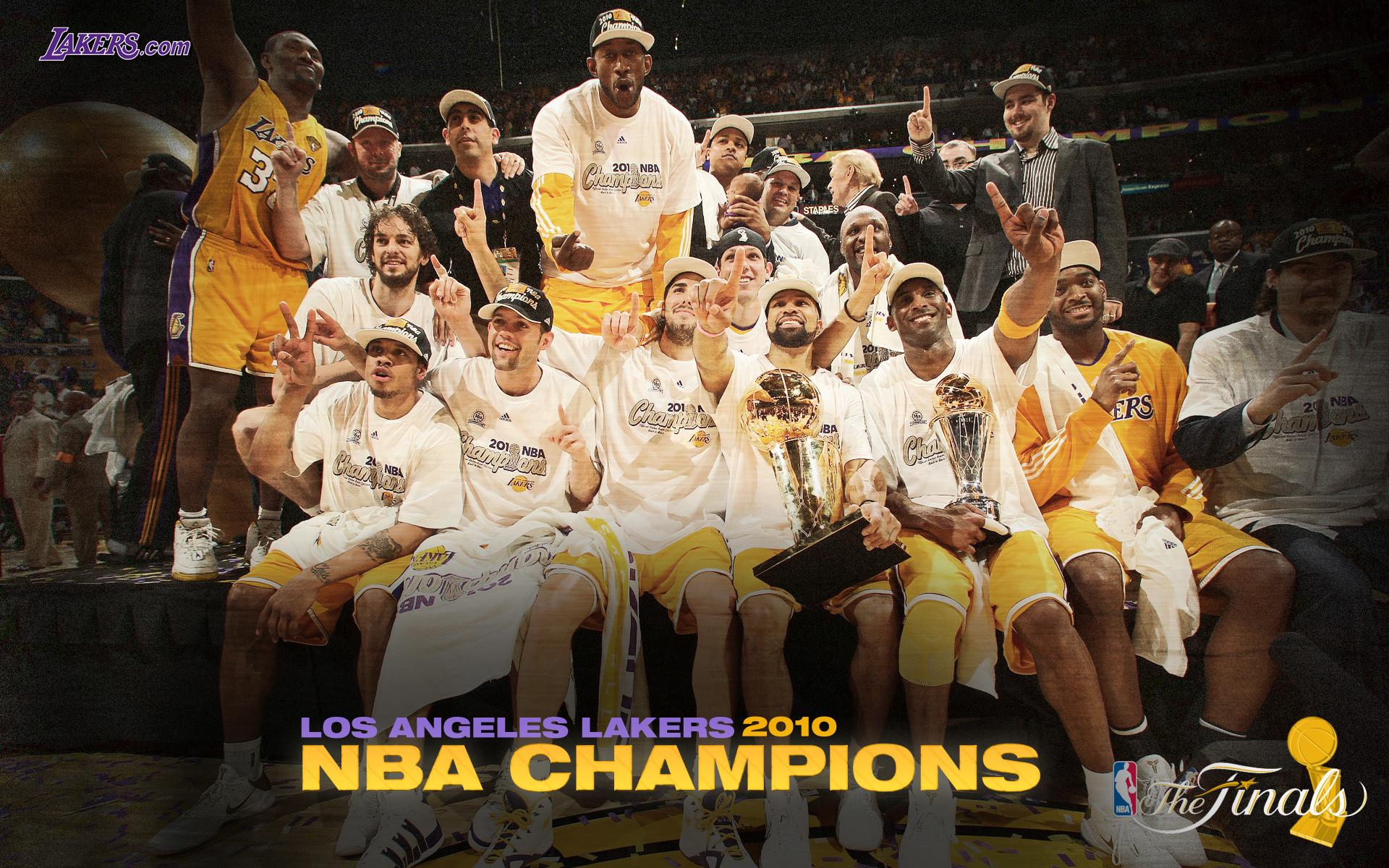 Lakers Desktop Wallpapers 2009-10