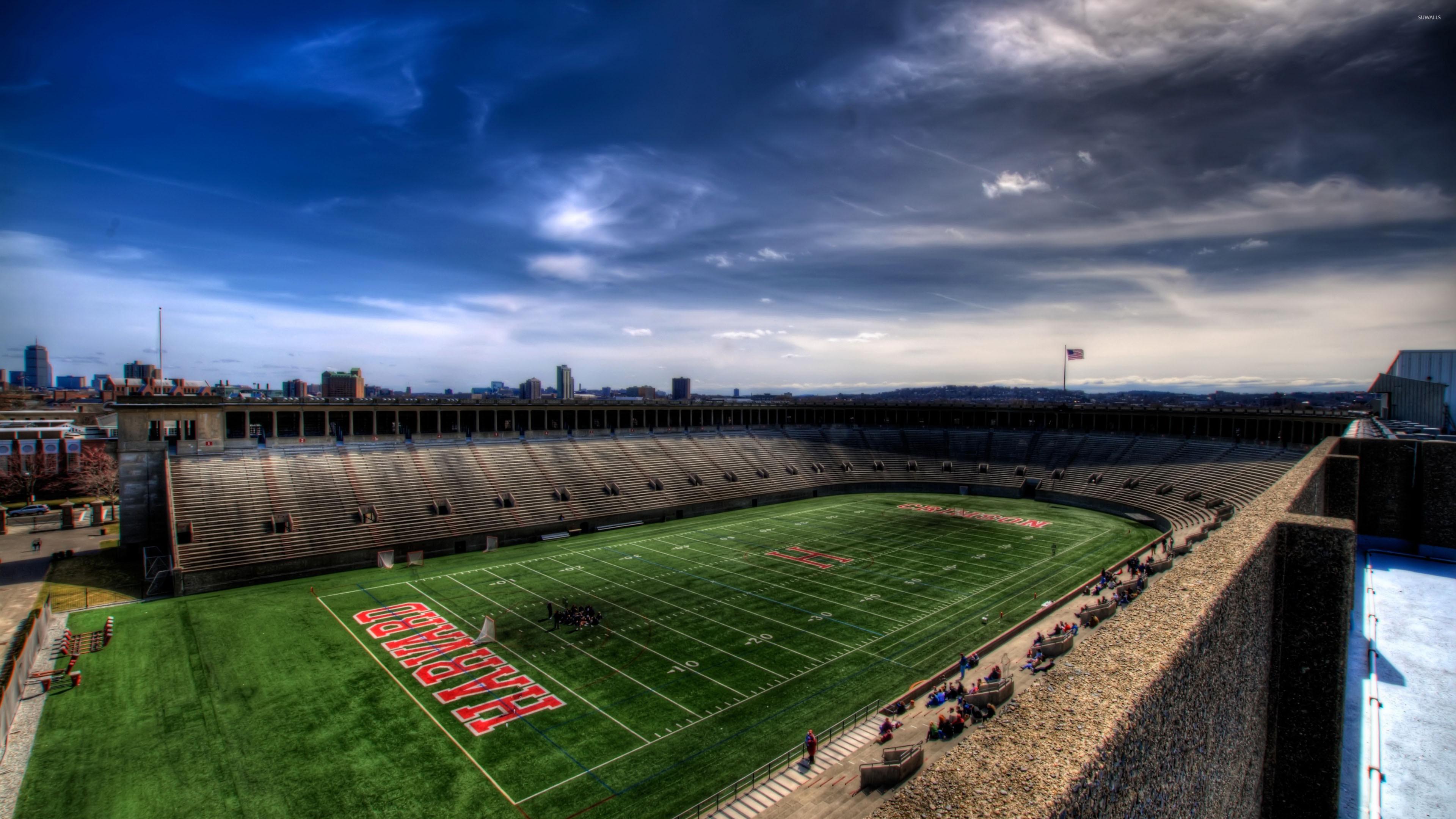 Harvard football field wallpaper jpg