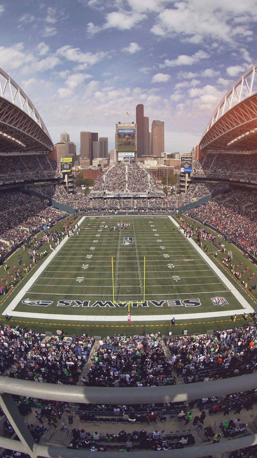 Seahawks Seattle Sports Stadium Football iPhone 6 Wallpaper .