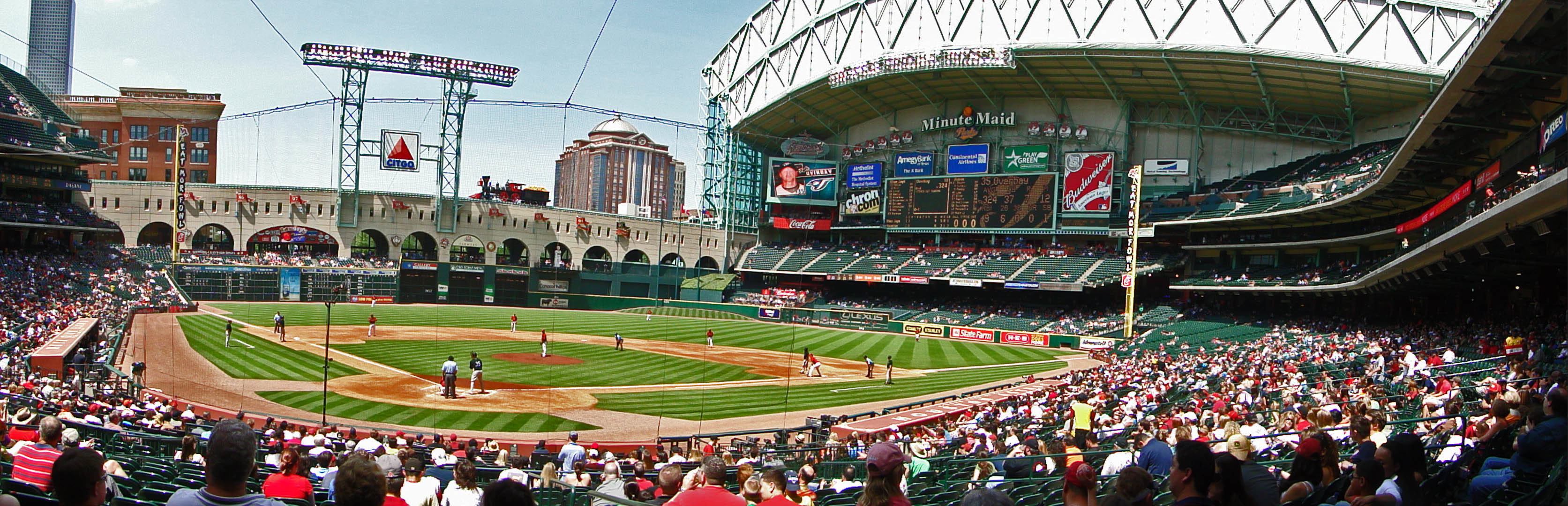 Easter Saturday Fanfest at Minute Maid Park.