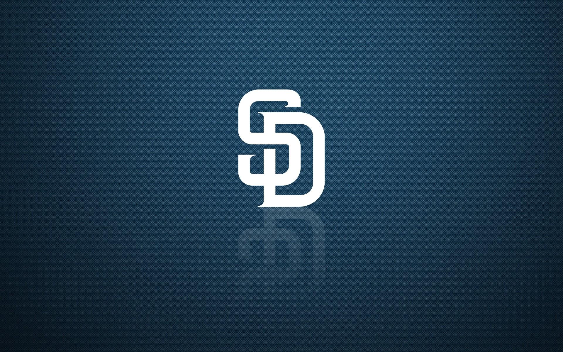San Diego Padres wallpaper with logo, desktop background 1920×1200