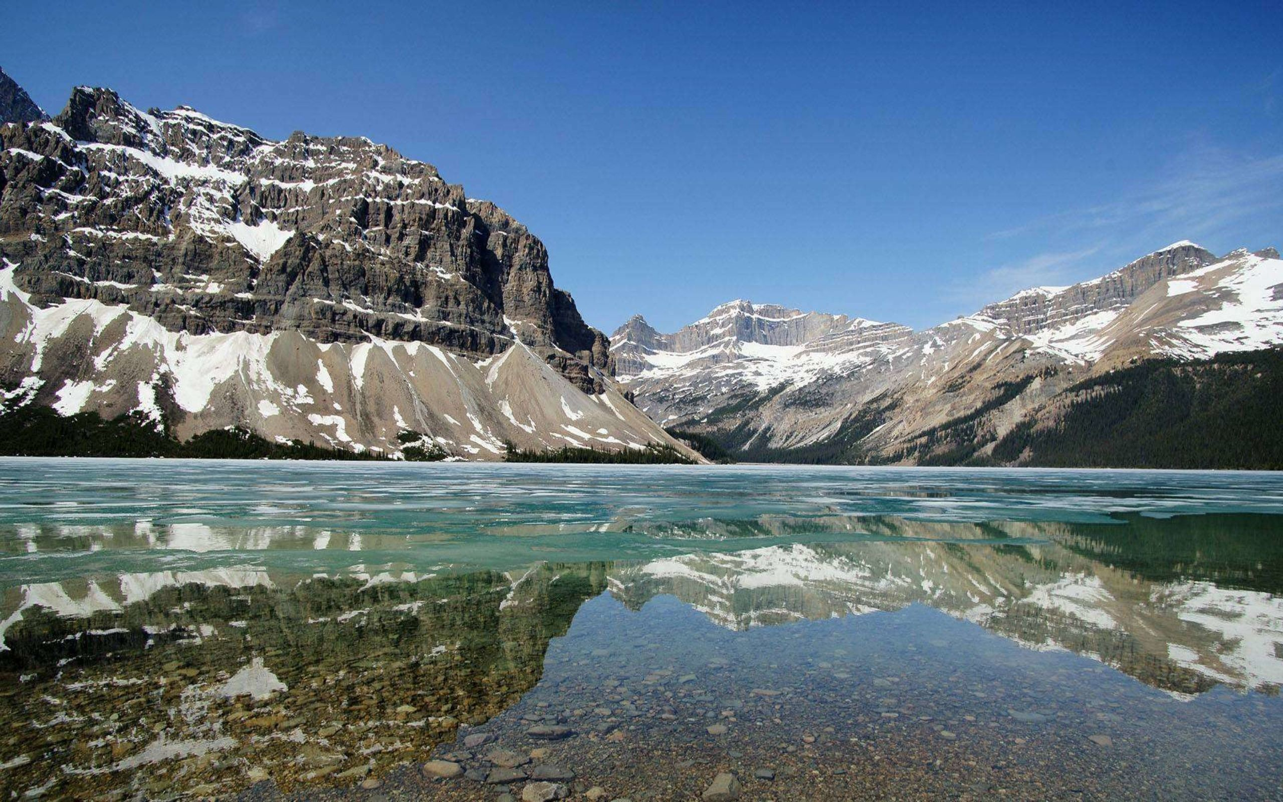 Rocky Mountains HD Wallpaper