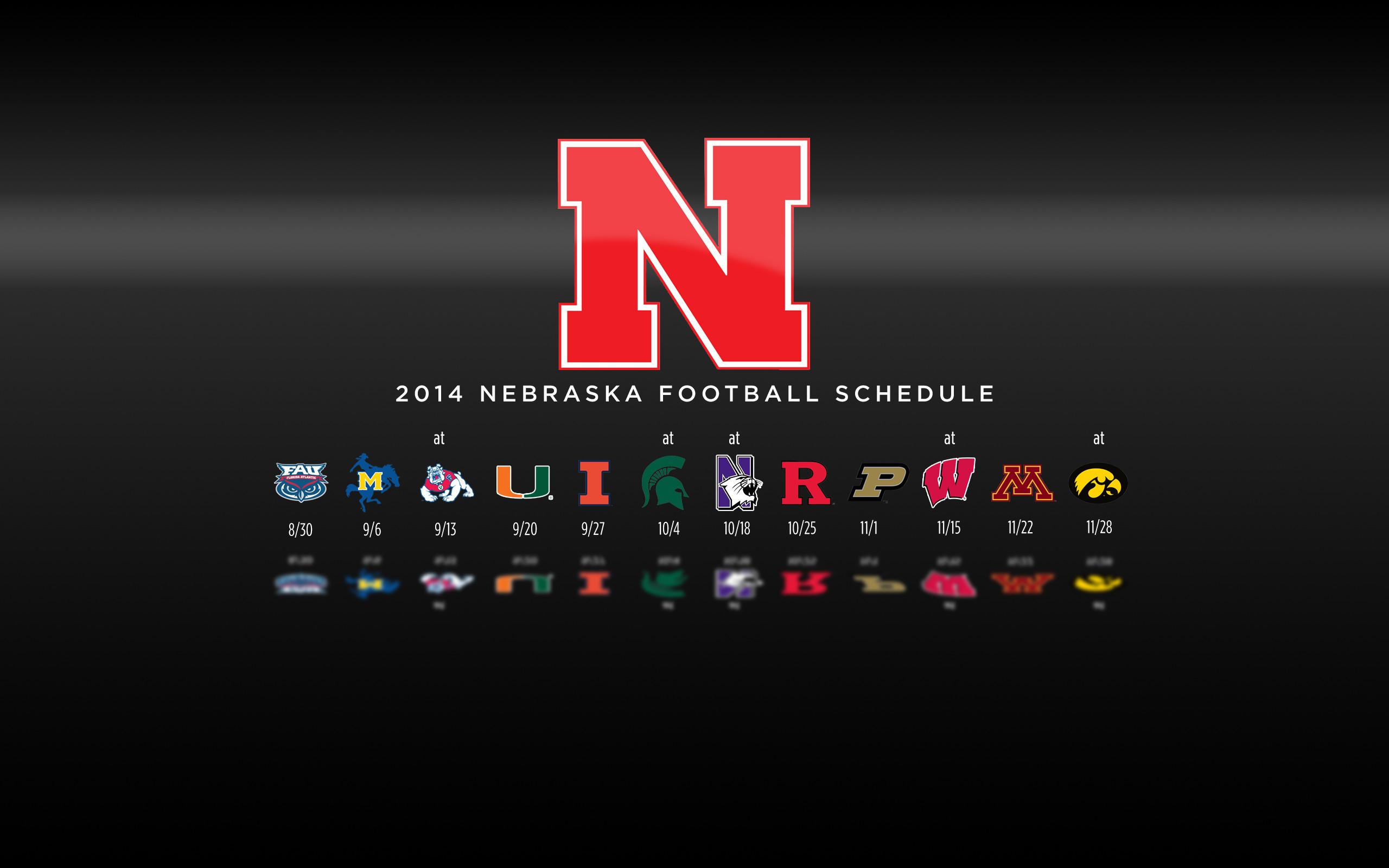 Background 2014 Nebraska Football Schedule Wallpaper – Widescreen .