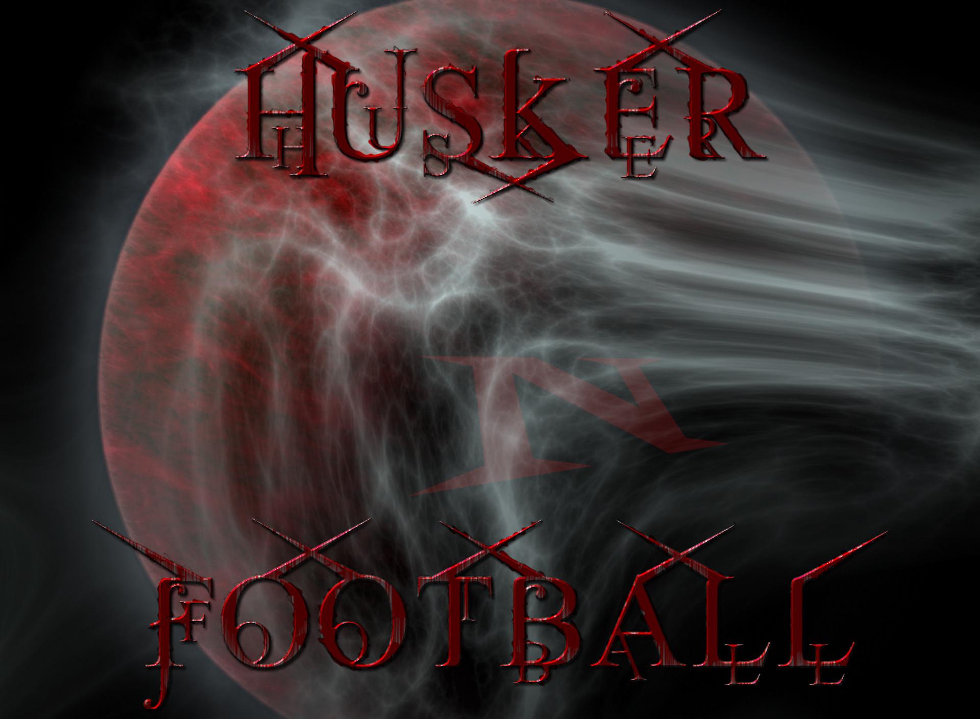Nebraska Cornhuskers Husker Football Blood Moon
