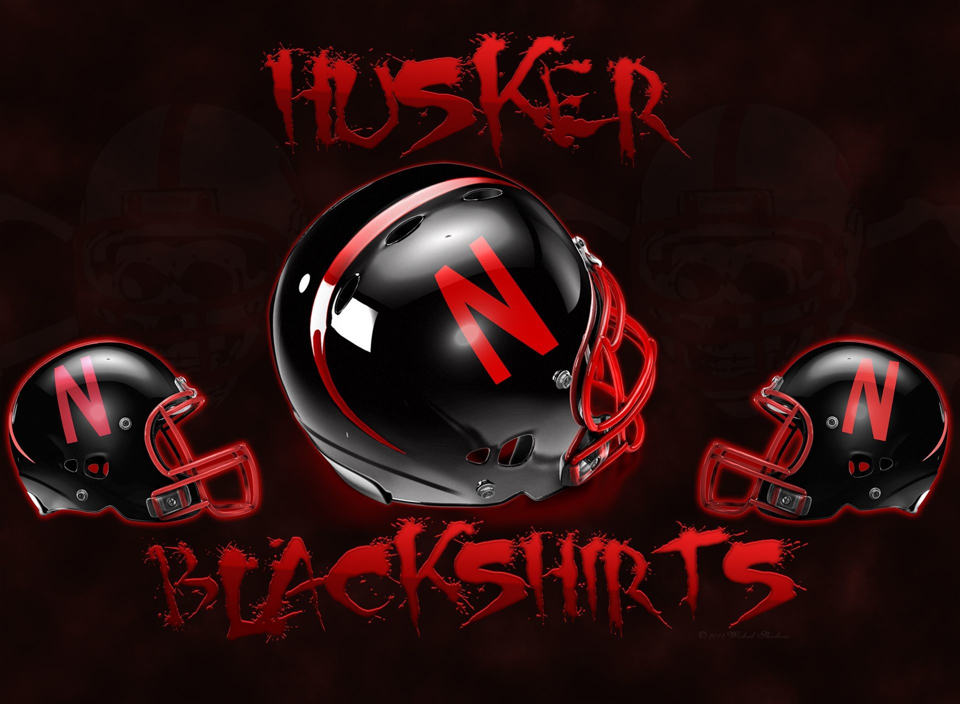 Wallpapers By Wicked Shadows: Husker Wallpapers