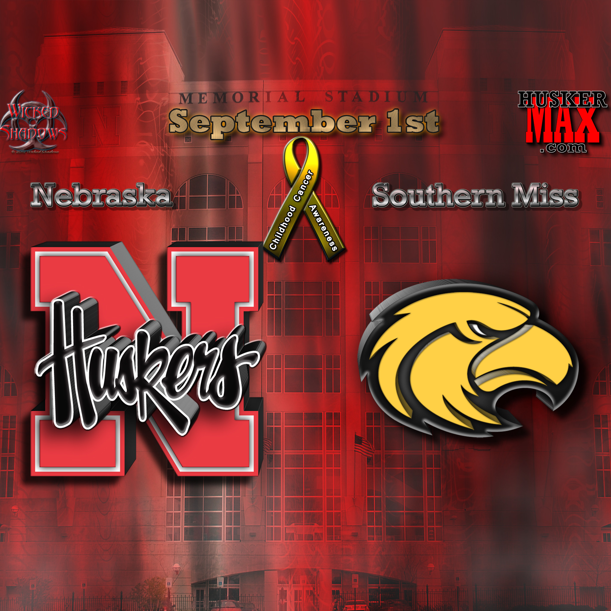 Wallpapers By Wicked Shadows: Nebraska Vs Southern Miss .
