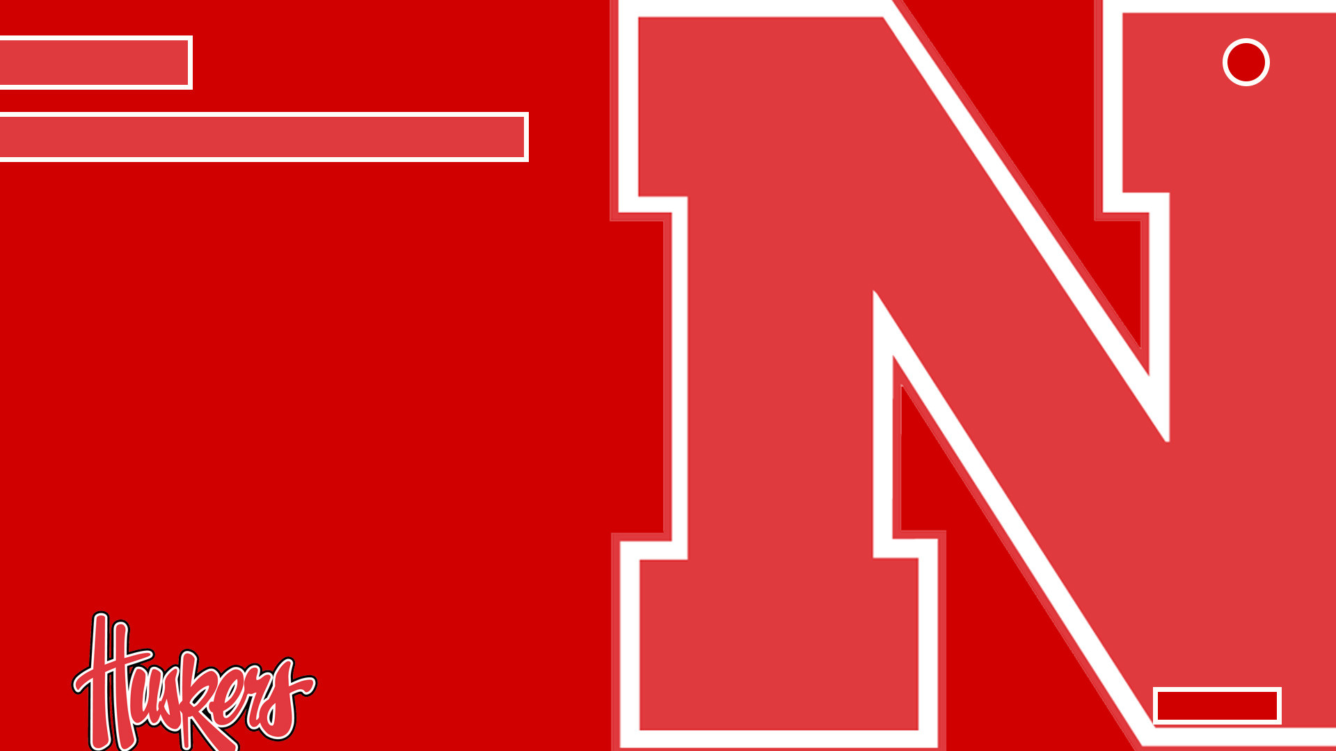 Huskers background for the Xbox One.