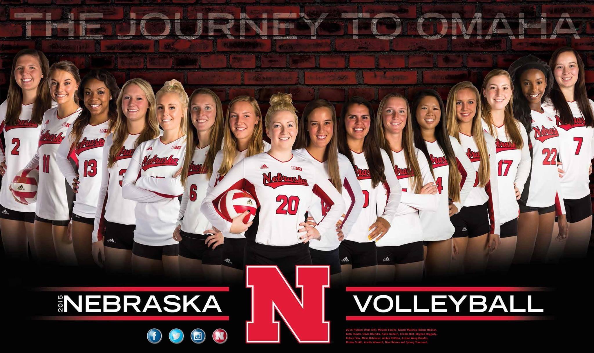 University of Nebraska Volleyball 2015